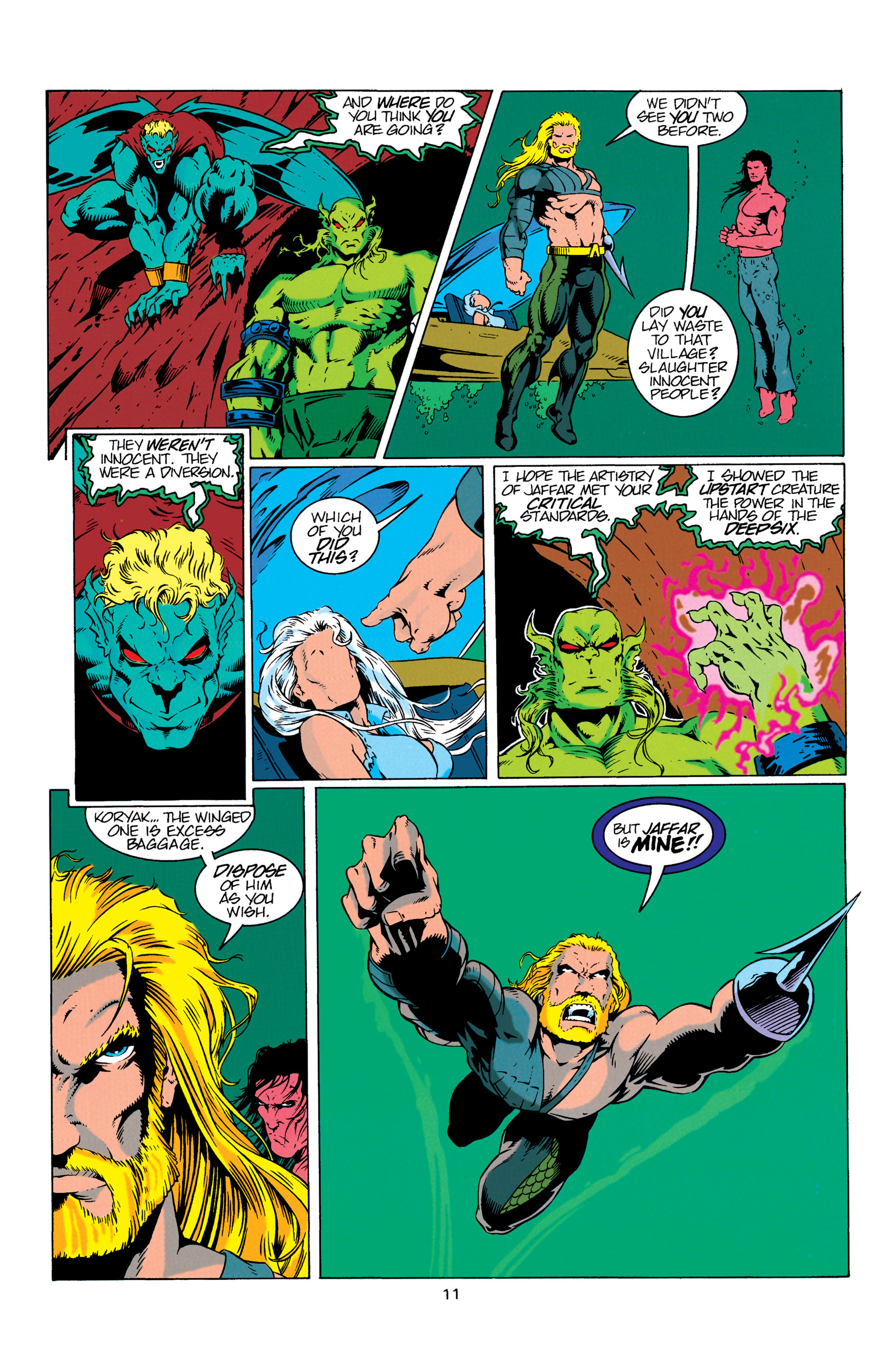 Read online Aquaman (1994) comic -  Issue #7 - 12