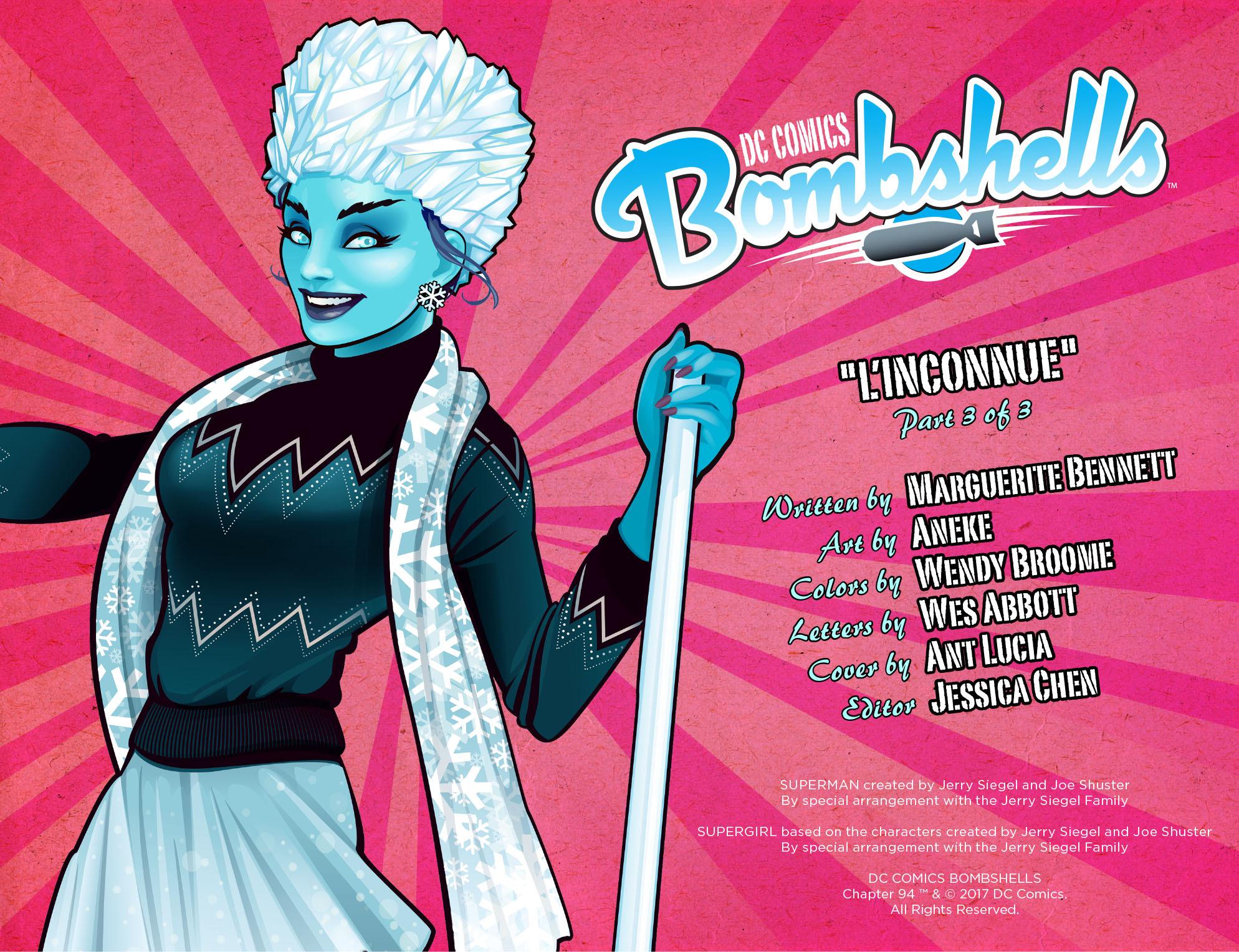 Read online DC Comics: Bombshells comic -  Issue #94 - 3