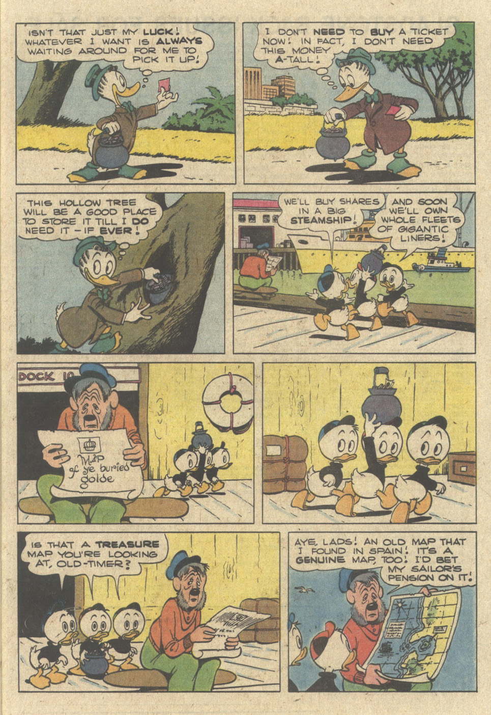 Read online Uncle Scrooge (1953) comic -  Issue #240 - 9