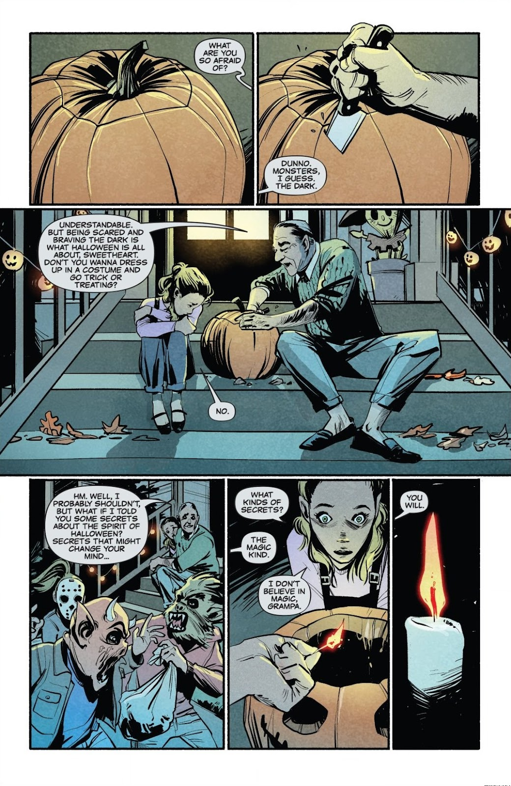 Read online Trick 'r Treat: Days of the Dead comic -  Issue # TPB - 6
