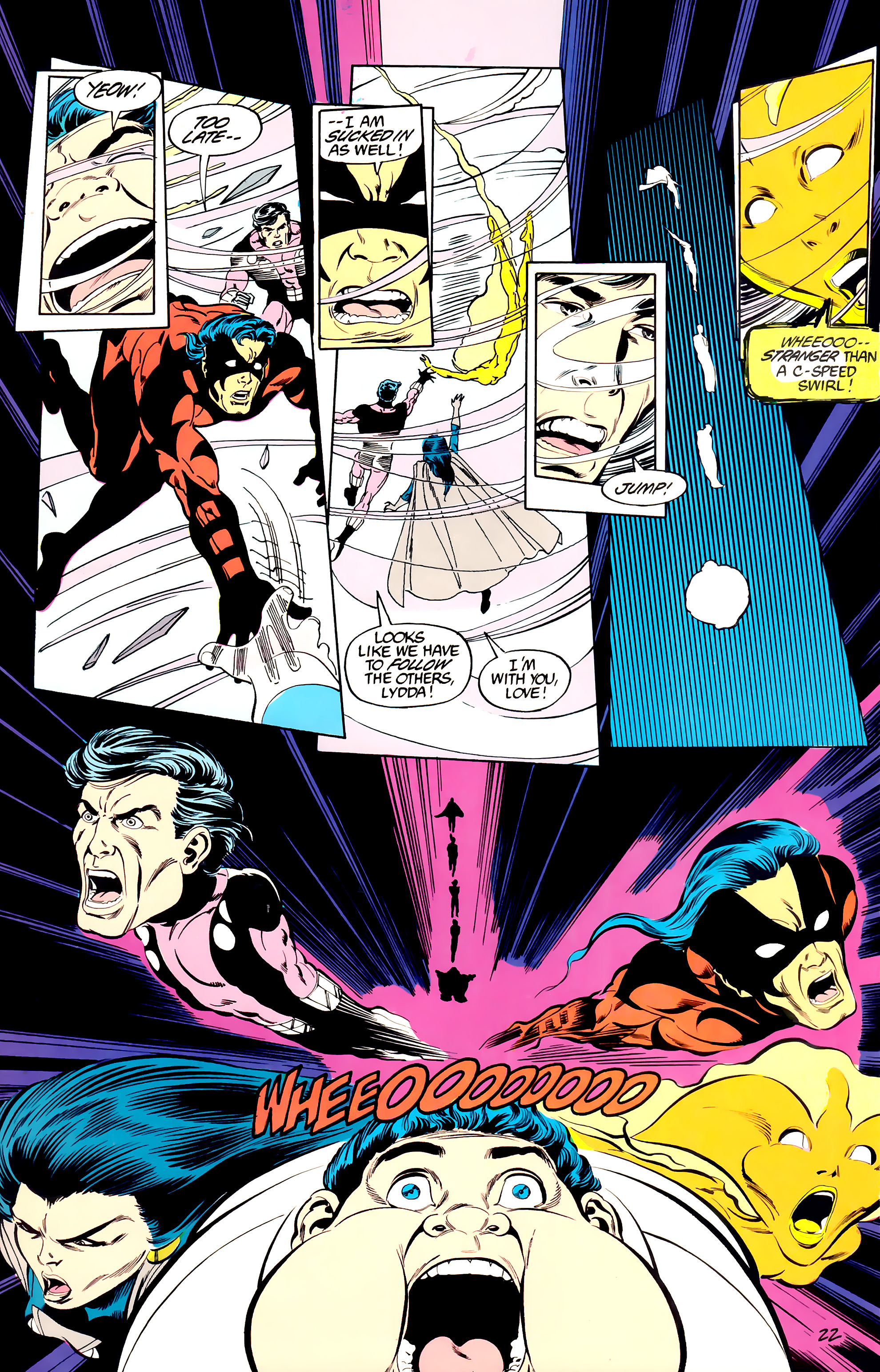Legion of Super-Heroes (1984) _Annual_3 Page 22