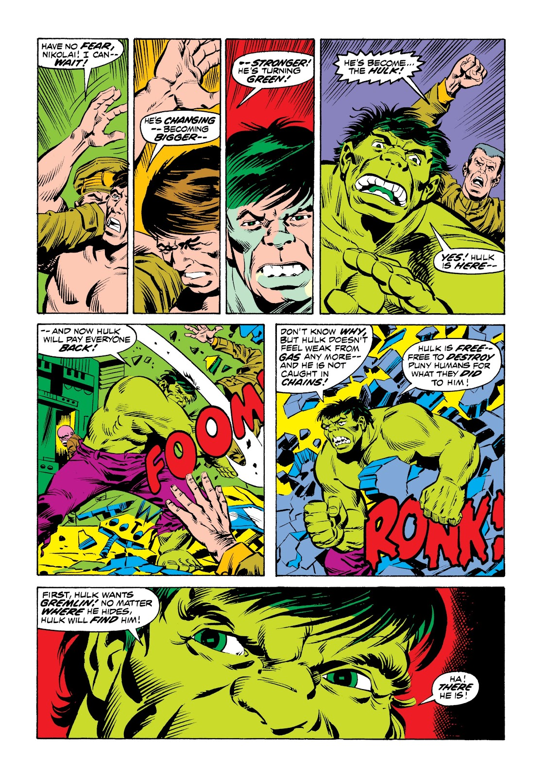 Read online Marvel Masterworks: The Incredible Hulk comic -  Issue # TPB 9 (Part 2) - 52