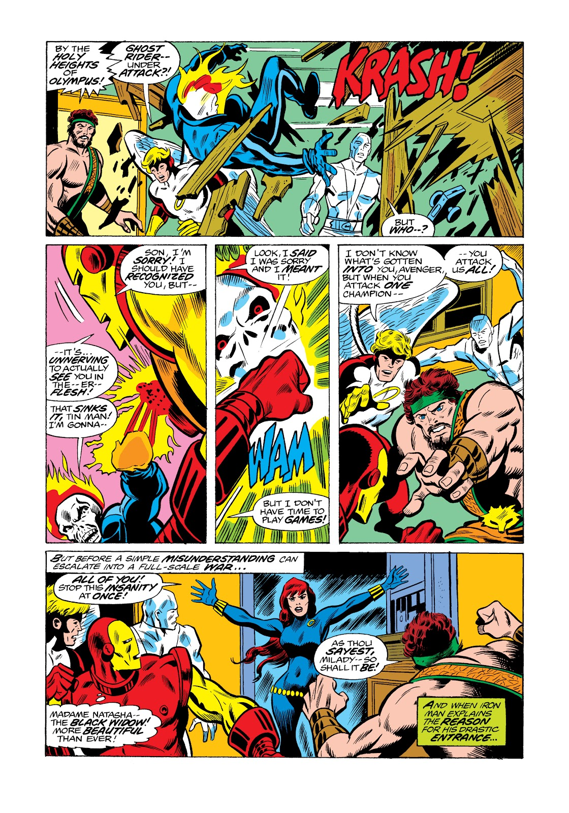Read online Marvel Masterworks: The Invincible Iron Man comic -  Issue # TPB 11 (Part 3) - 93