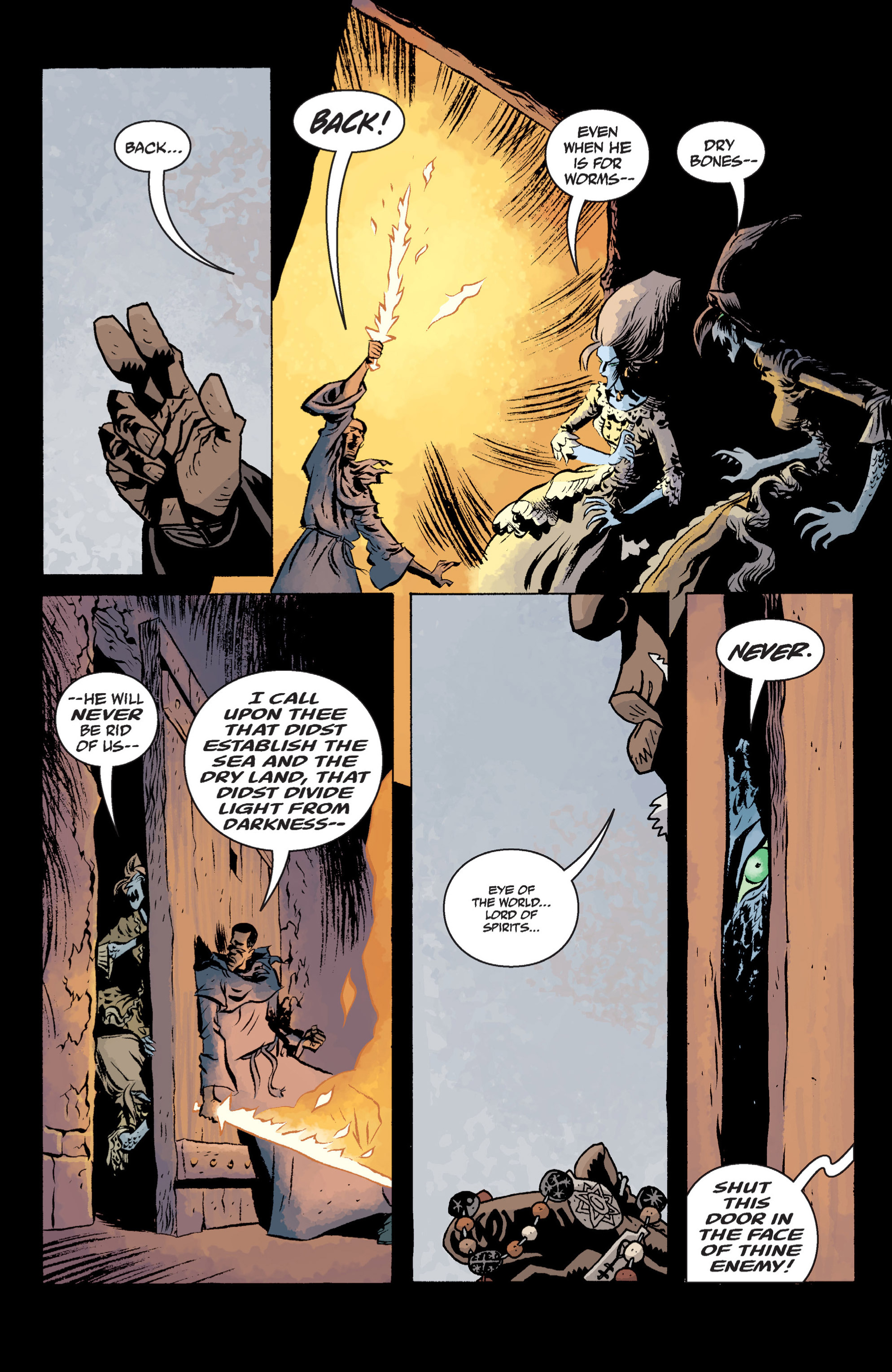Read online B.P.R.D. (2003) comic -  Issue # TPB 13 - 127