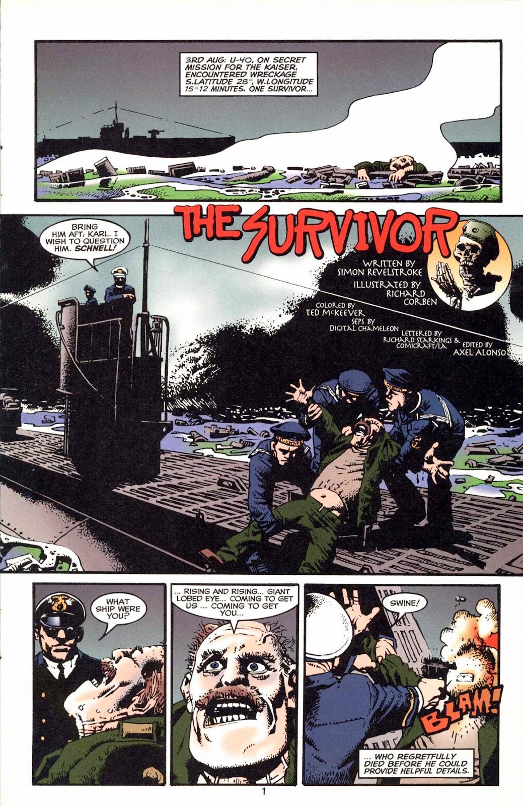 Read online Weird War Tales (1997) comic -  Issue #1 - 4