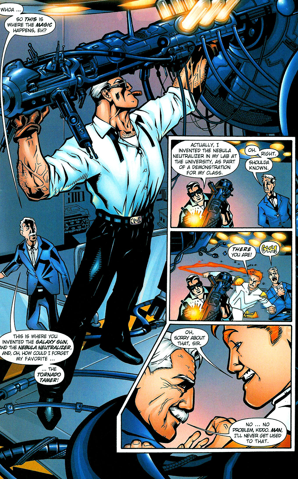 Read online Noble Causes (2002) comic -  Issue #1 - 12