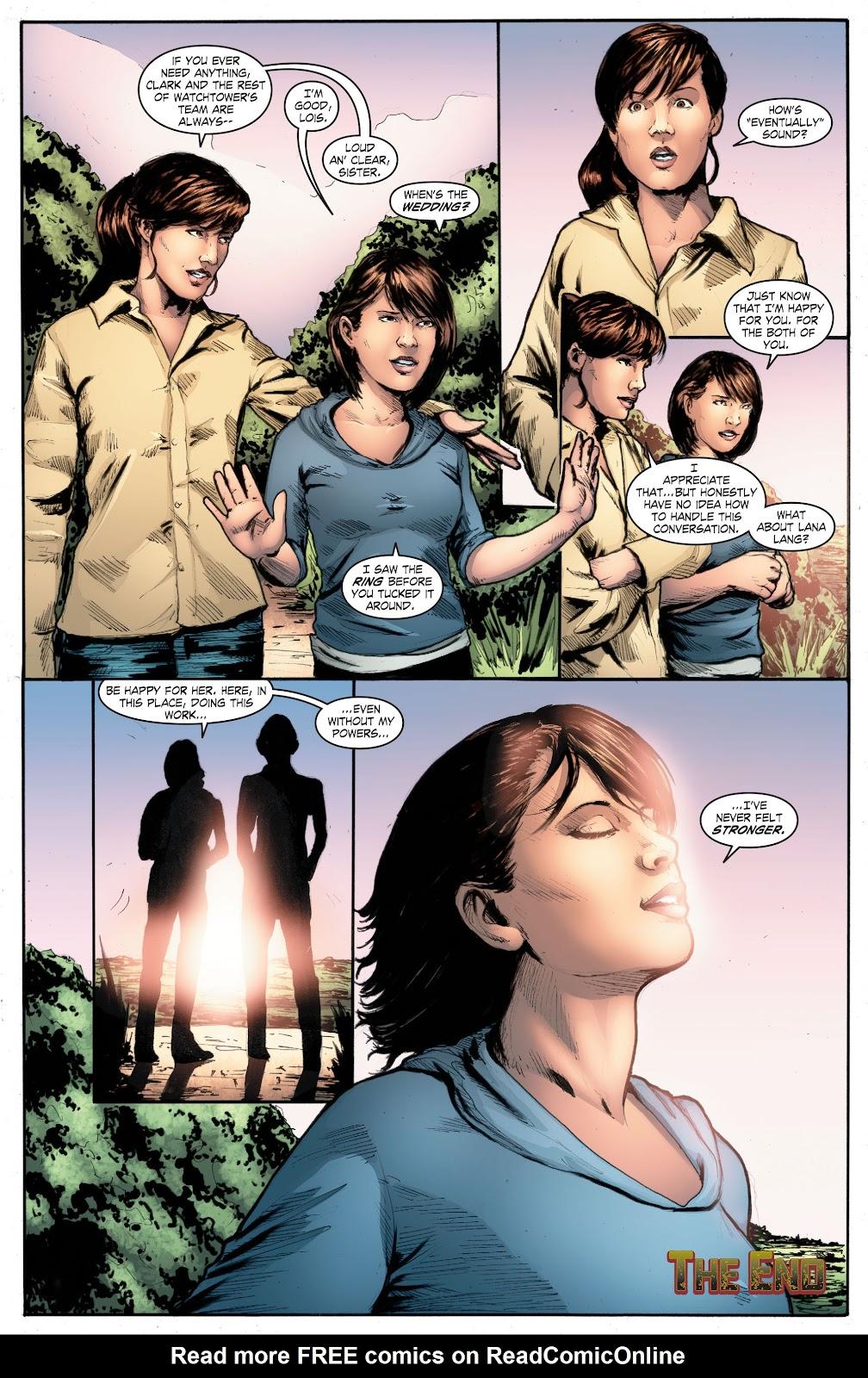 Read online Smallville Season 11 [II] comic -  Issue # TPB 4 - 142