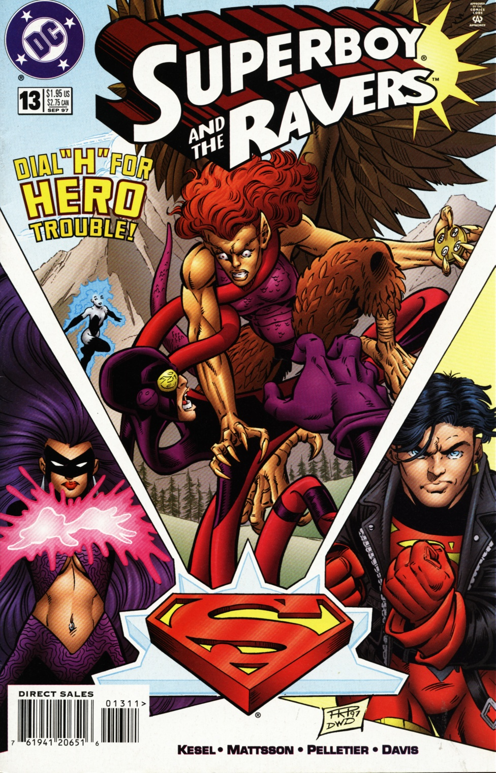 Read online Superboy & The Ravers comic -  Issue #13 - 1
