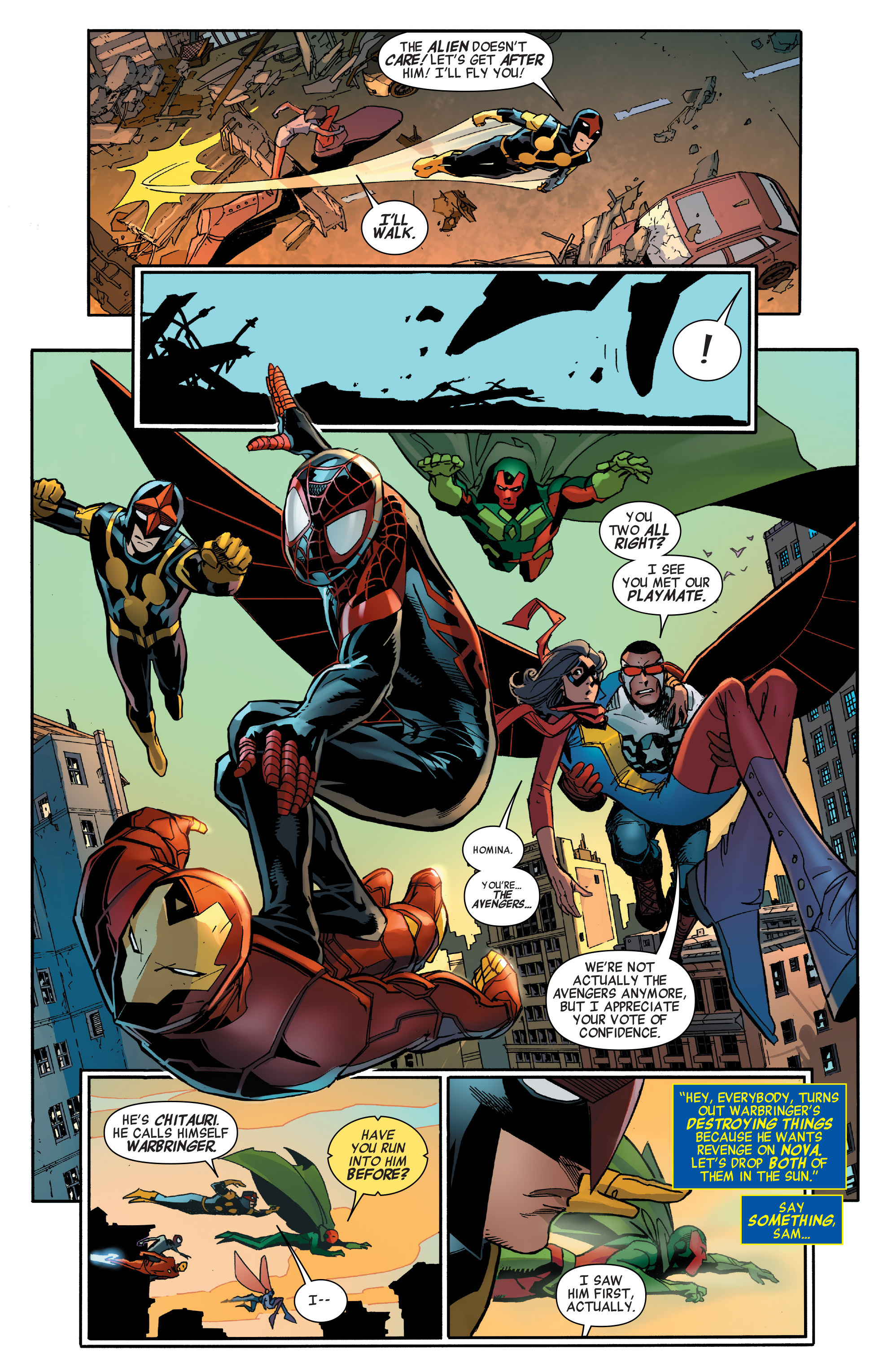 Read online All-New, All-Different Avengers comic -  Issue #2 - 13