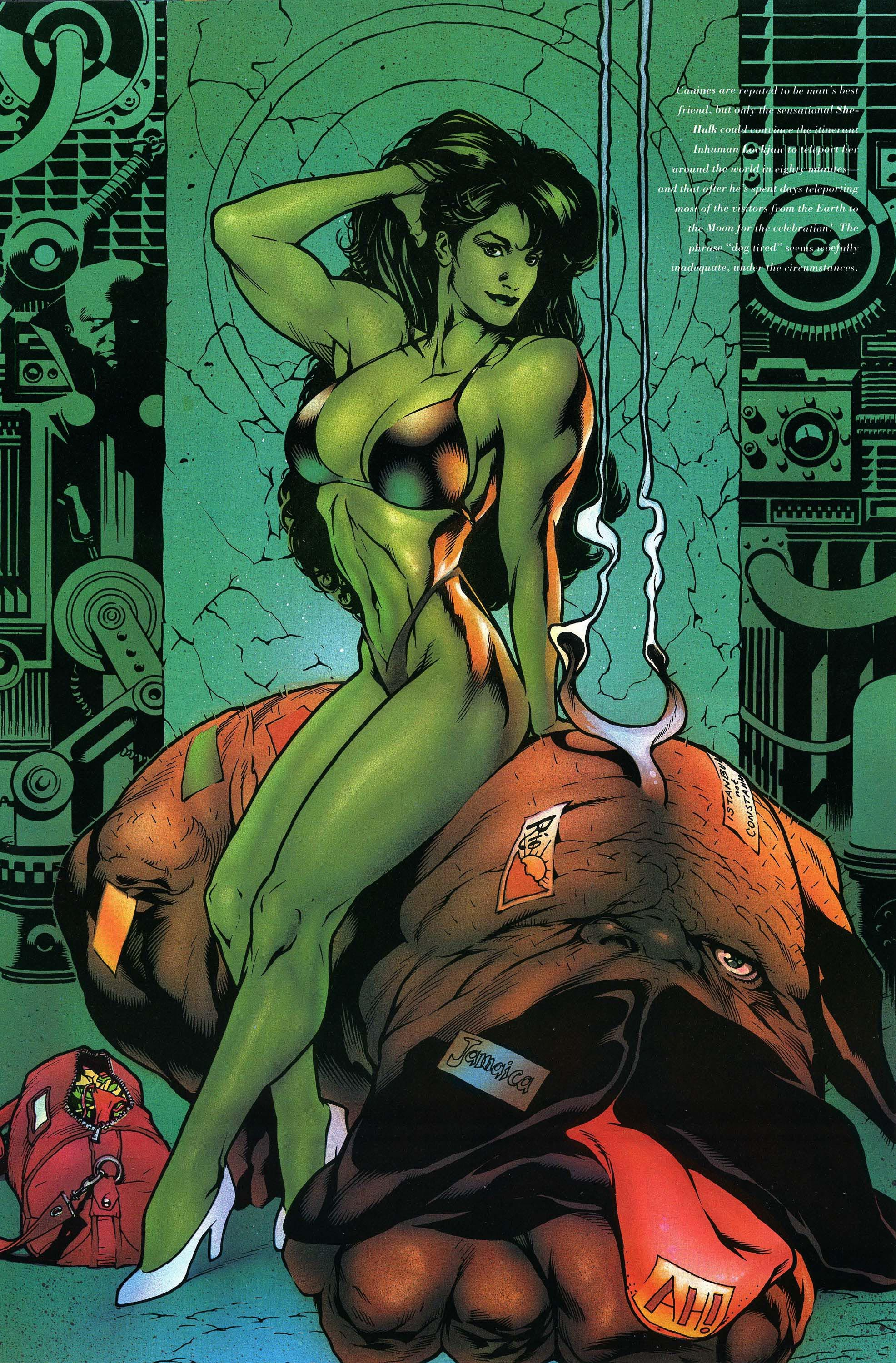 Read online Marvel Swimsuit Special comic -  Issue #3 - 24