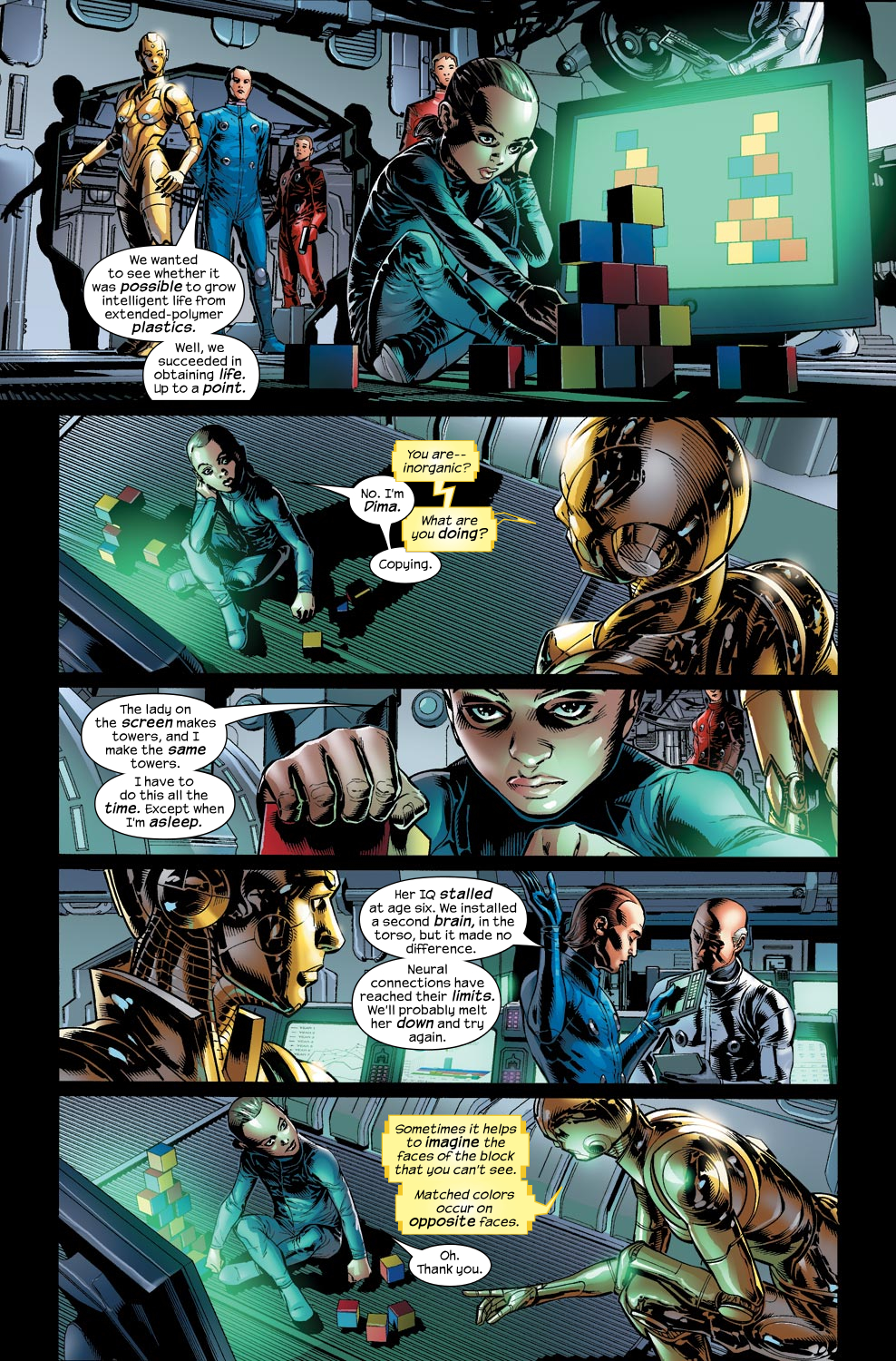 Read online Ultimate Vision comic -  Issue #1 - 13