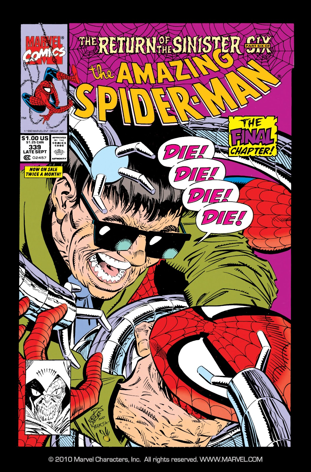 The Amazing Spider-Man (1963) 339 Page 1