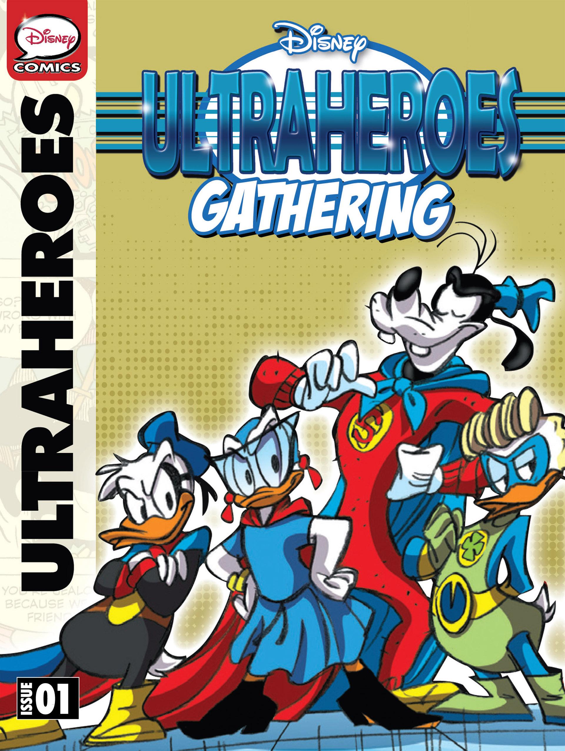 Read online Ultraheroes comic -  Issue #1 - 1