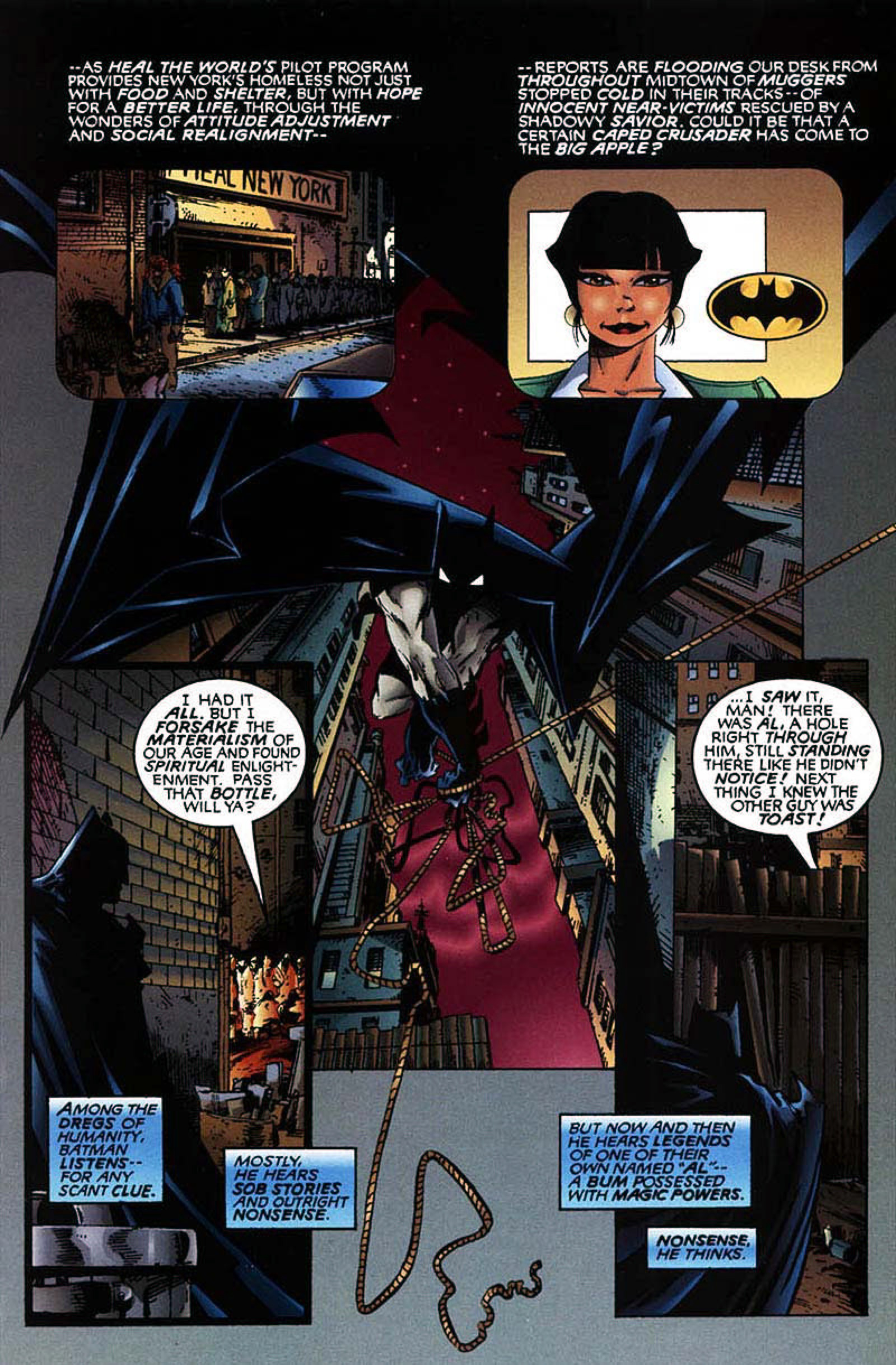 Read online Spawn-Batman comic -  Issue # Full - 13