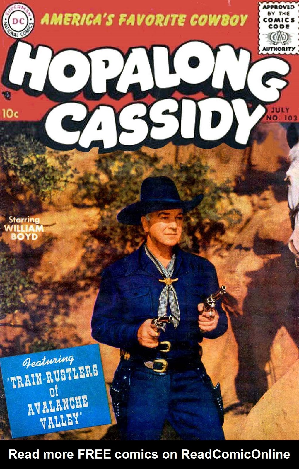 Hopalong Cassidy issue 103 - Page 1