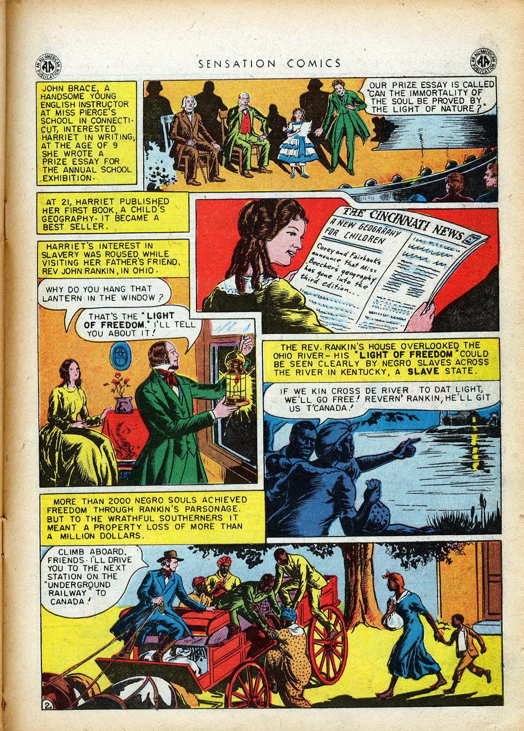 Read online Sensation (Mystery) Comics comic -  Issue #40 - 39