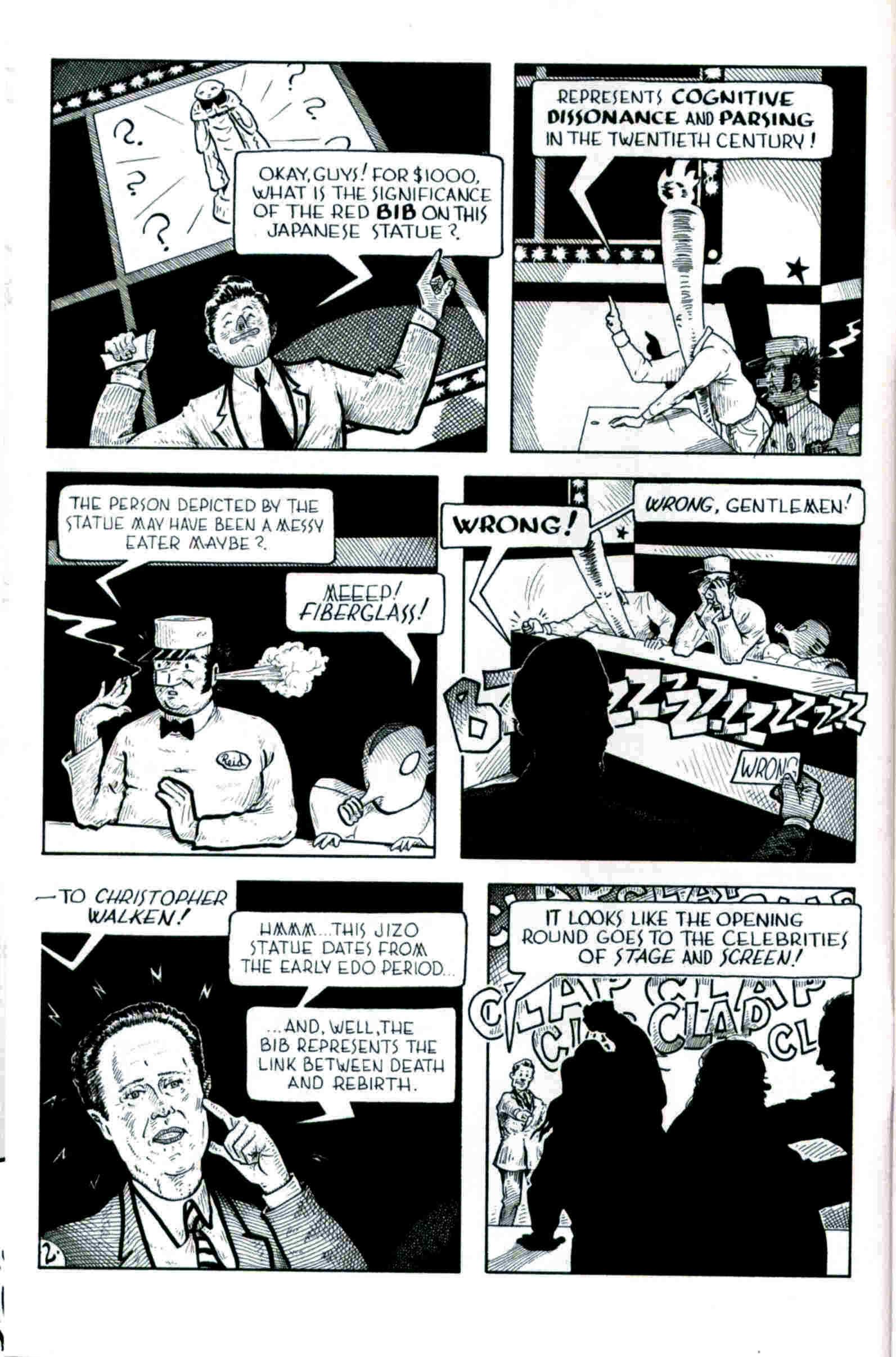 Read online Flaming Carrot & Reid Fleming, World's Toughest Milkman comic -  Issue # Full - 2