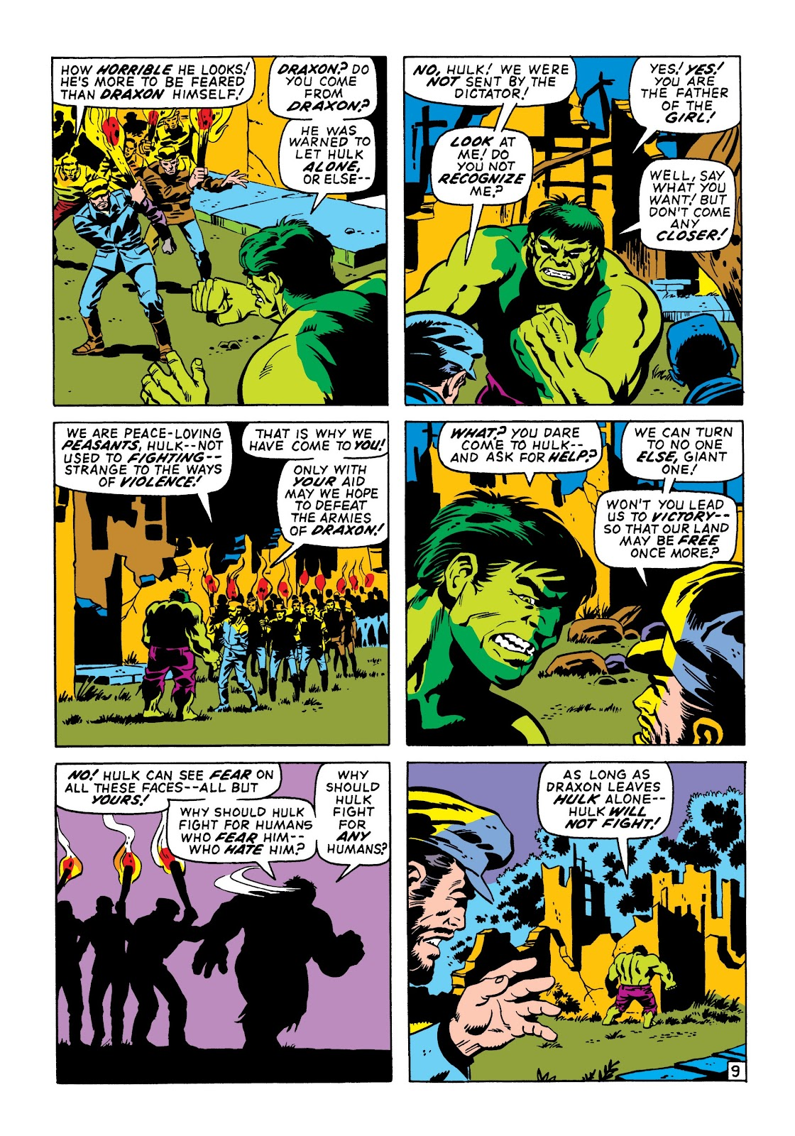 Read online Marvel Masterworks: The Incredible Hulk comic -  Issue # TPB 6 (Part 3) - 63