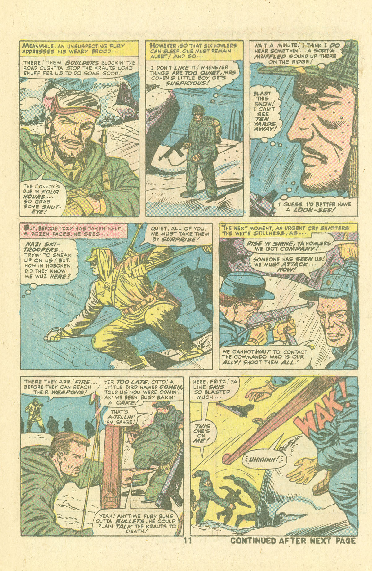 Read online Sgt. Fury comic -  Issue #134 - 13