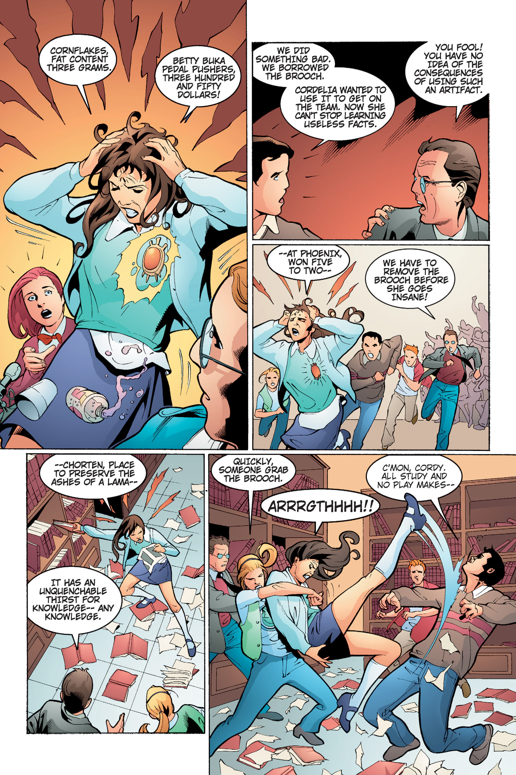 Read online Buffy the Vampire Slayer: Omnibus comic -  Issue # TPB 4 - 95