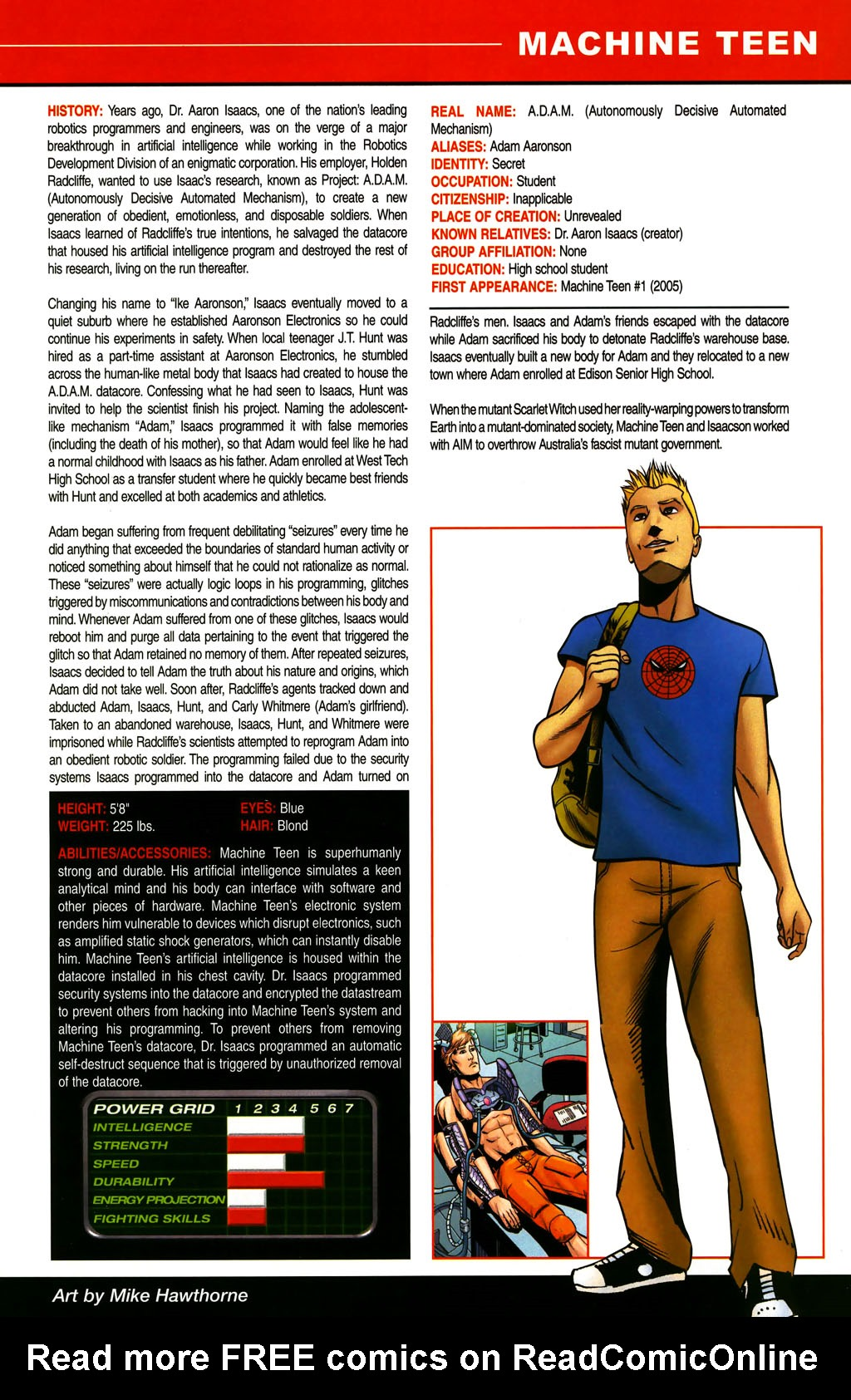 Read online All-New Official Handbook of the Marvel Universe A to Z comic -  Issue #6 - 49