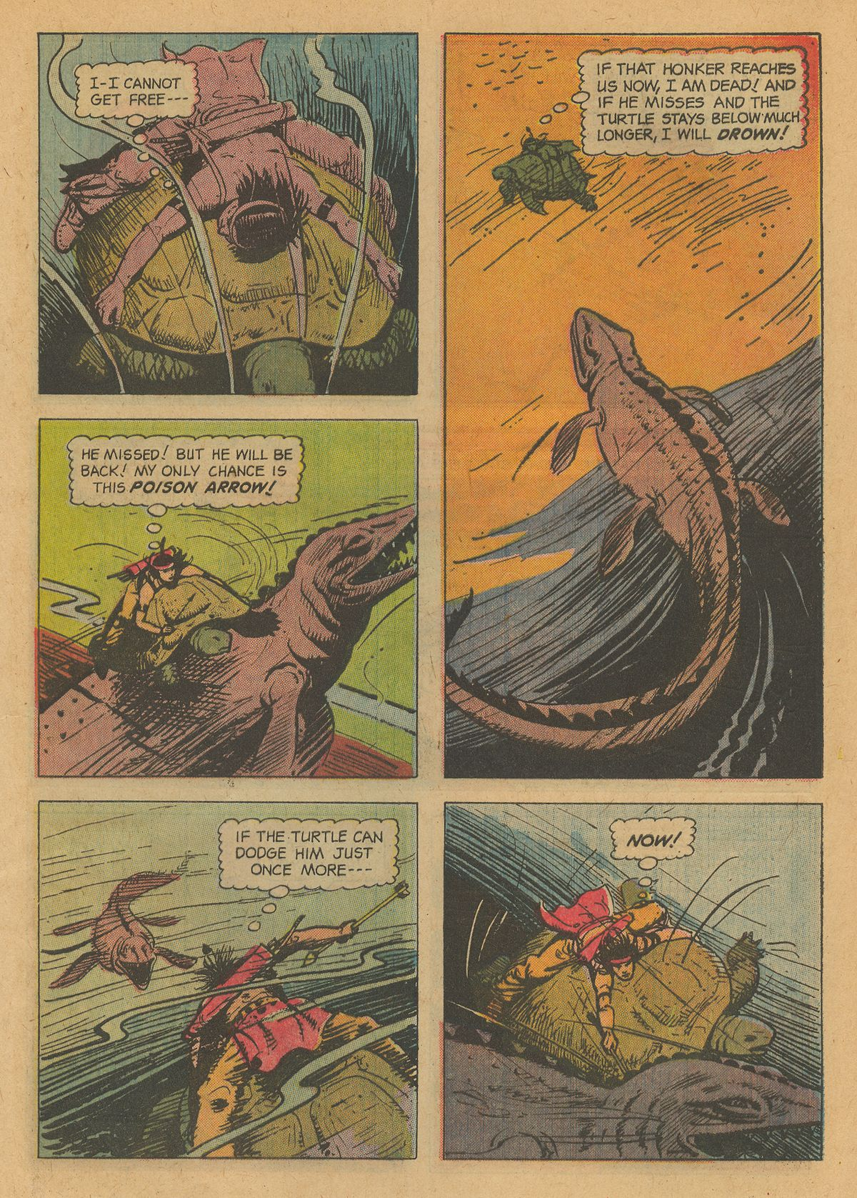 Read online Turok, Son of Stone comic -  Issue #34 - 29