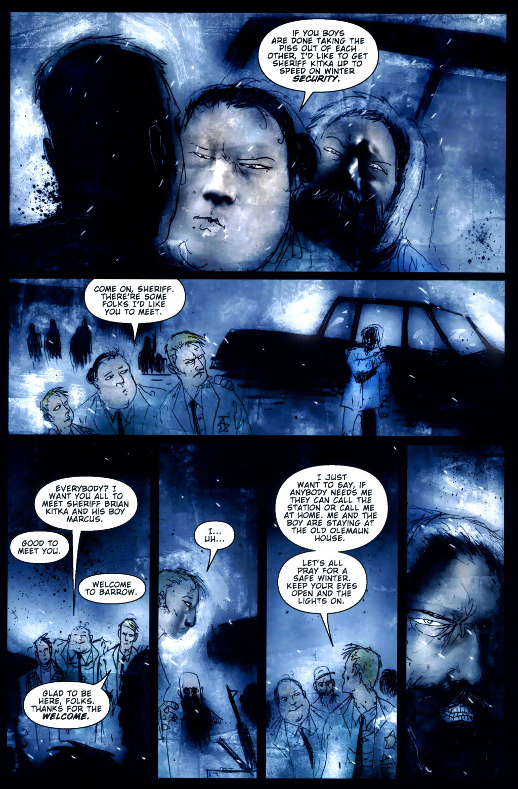 Read online 30 Days of Night: Return to Barrow comic -  Issue #3 - 12