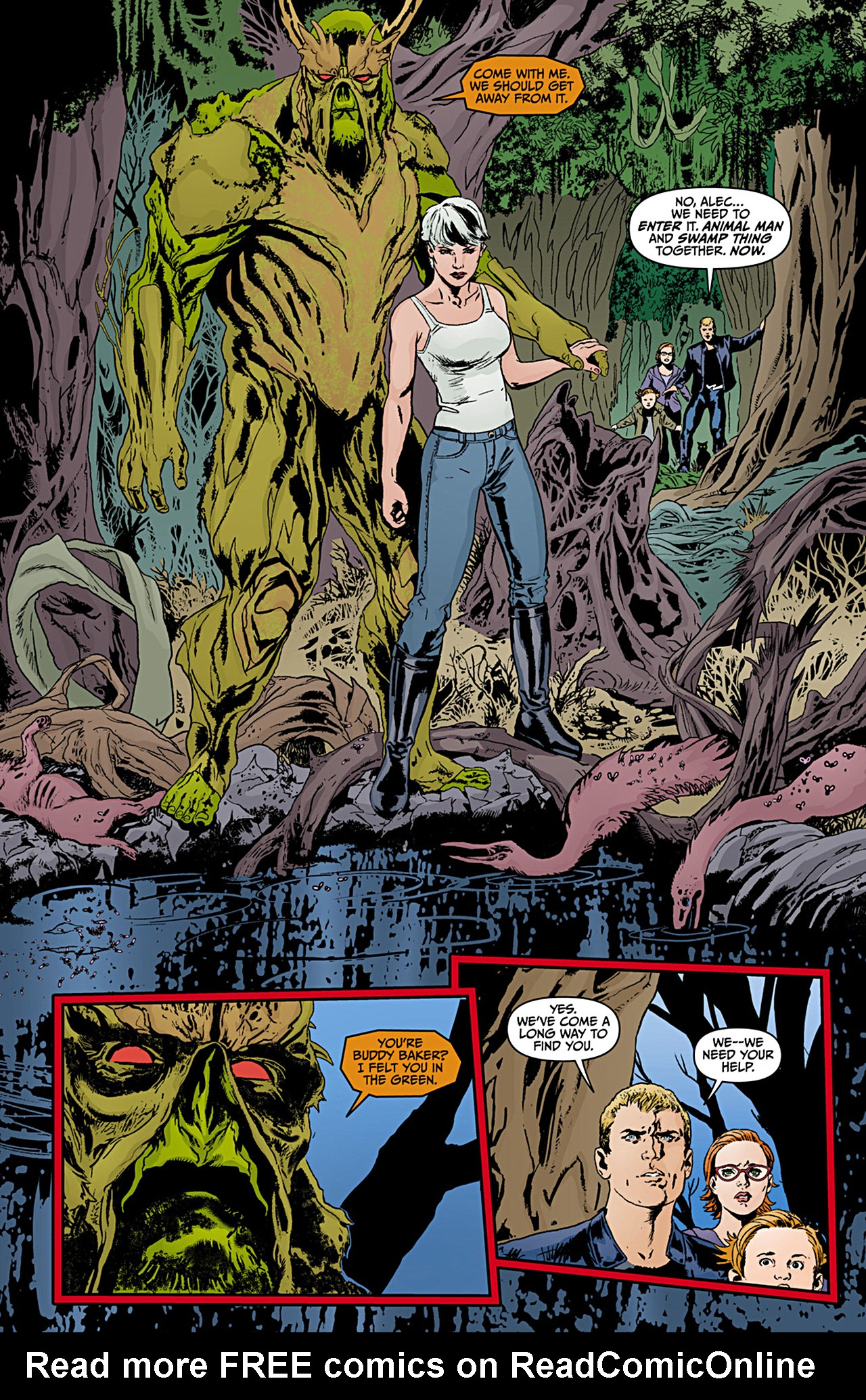 Read online Animal Man (2011) comic -  Issue #12 - 8