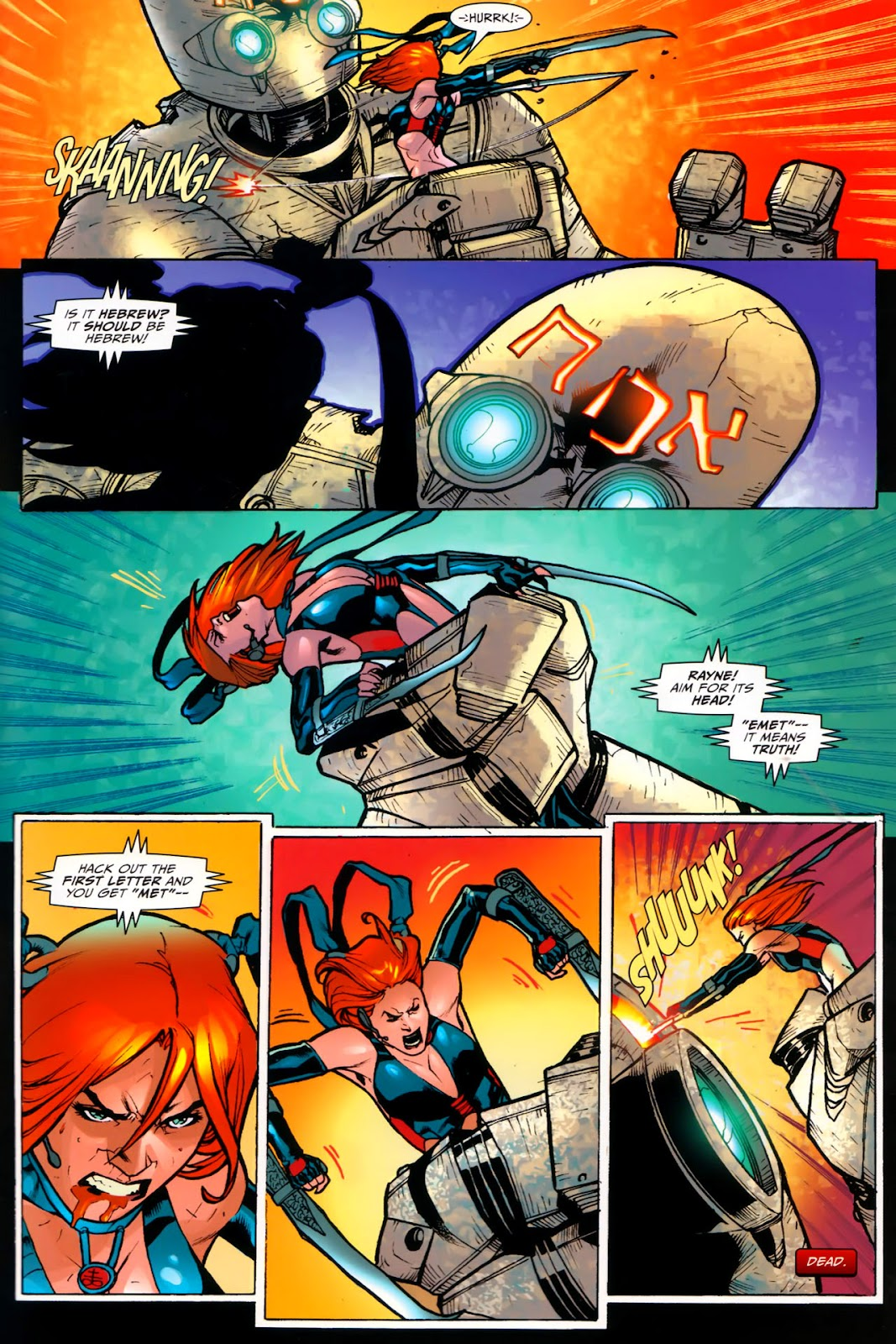 BloodRayne: Automaton issue Full - Page 23