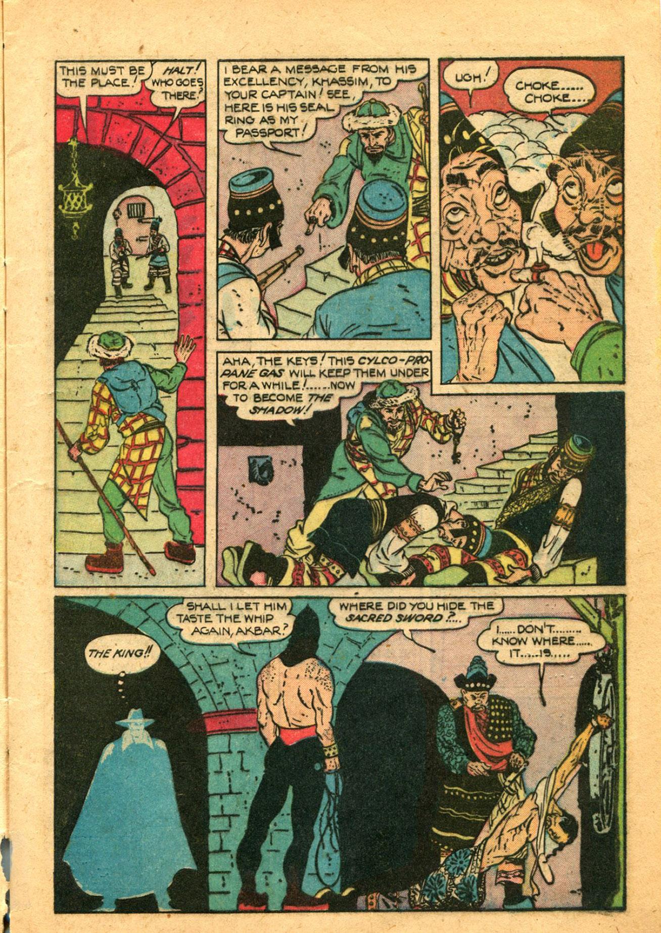 Read online Shadow Comics comic -  Issue #78 - 11