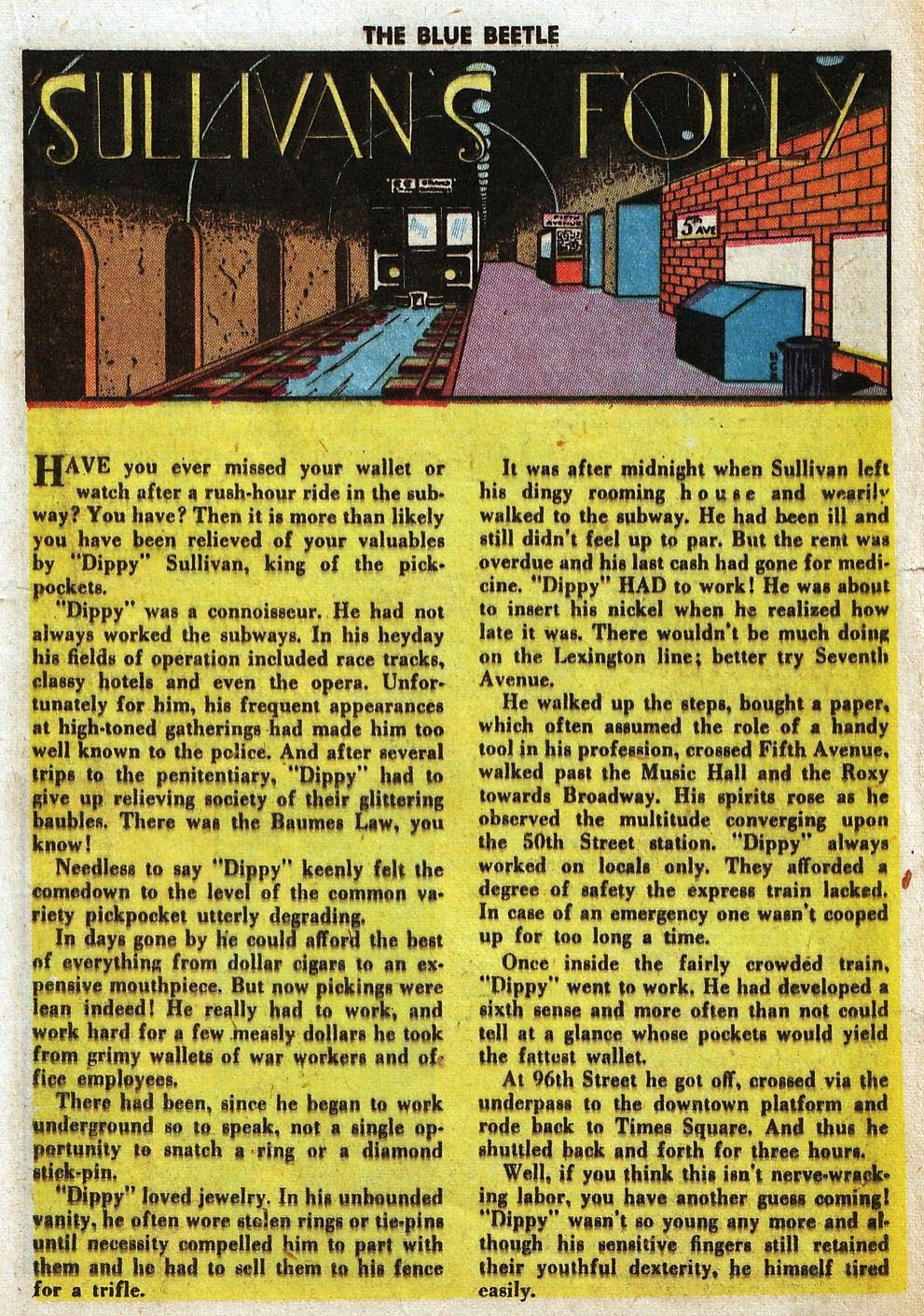 The Blue Beetle issue 33 - Page 25