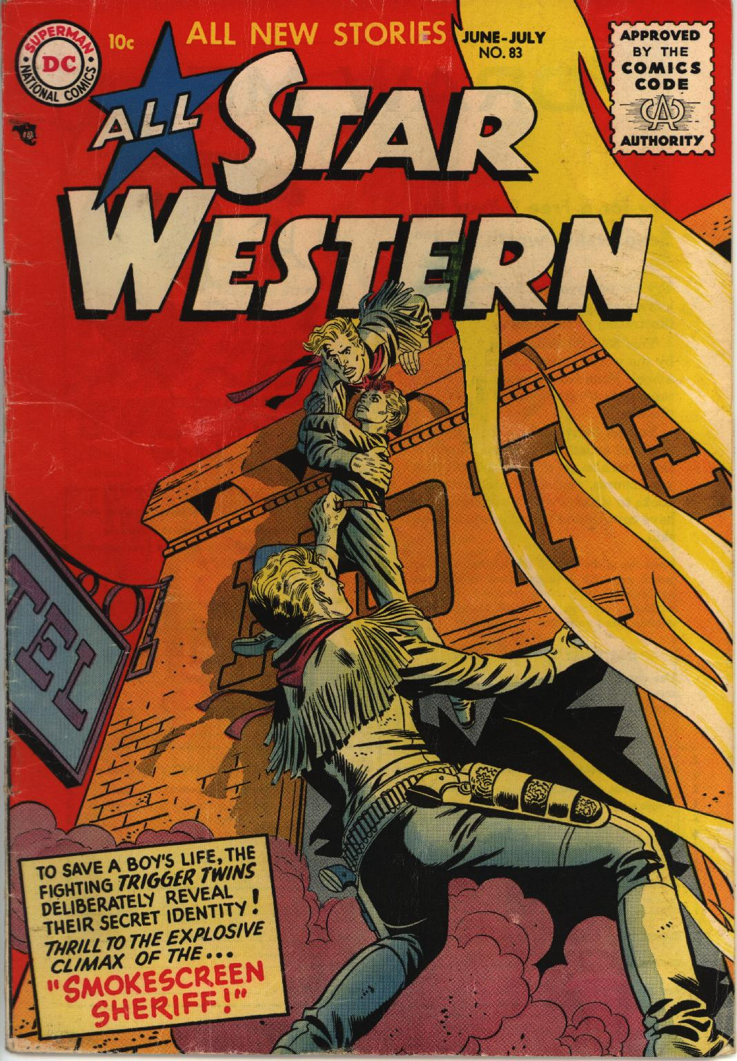 Read online All-Star Western (1951) comic -  Issue #83 - 1