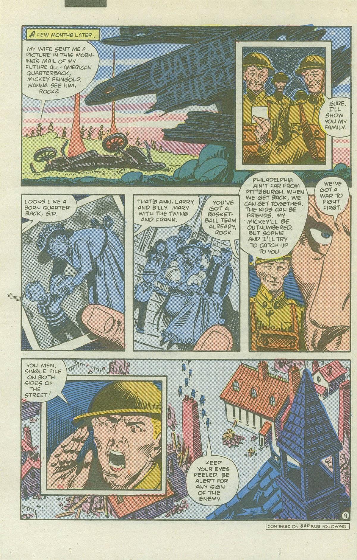 Read online Sgt. Rock comic -  Issue #419 - 11