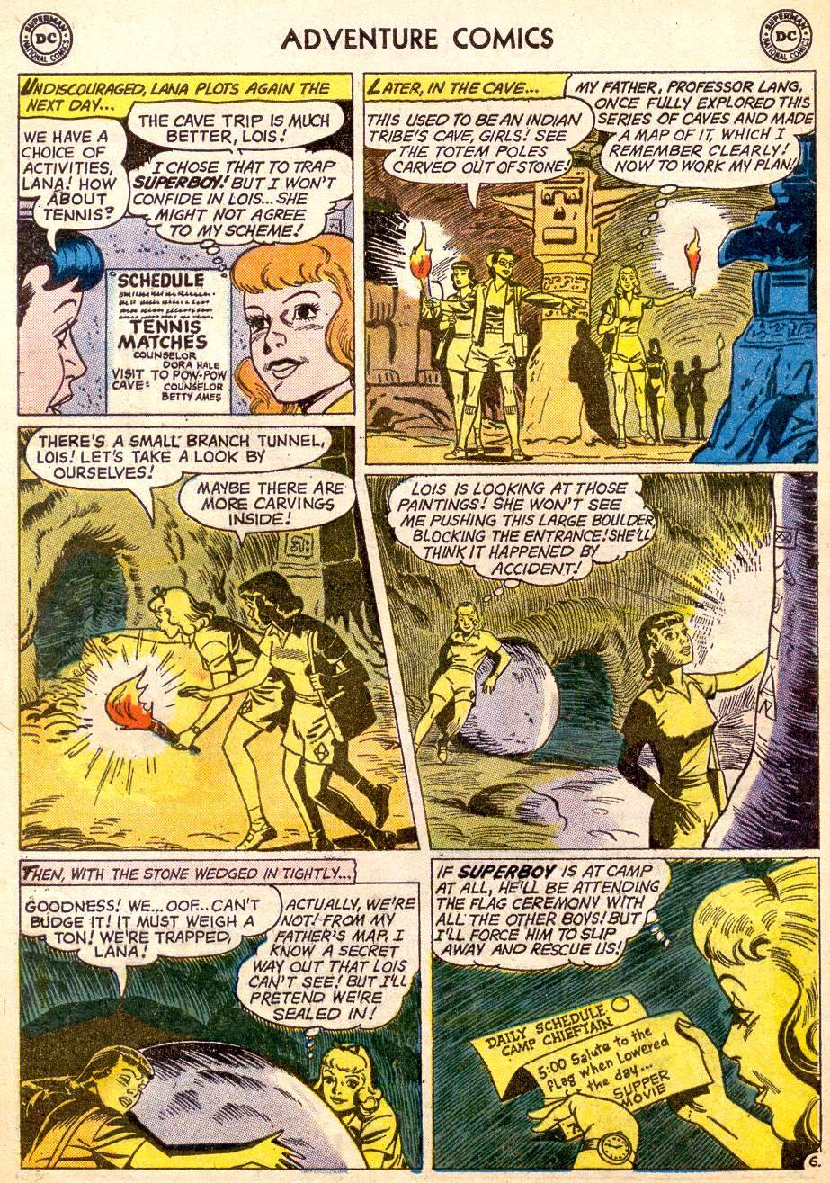 Read online Adventure Comics (1938) comic -  Issue #261 - 8