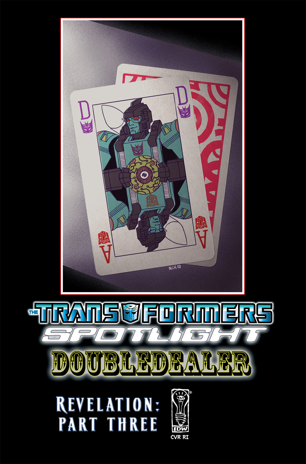 Read online Transformers Spotlight: Doubledealer comic -  Issue # Full - 26