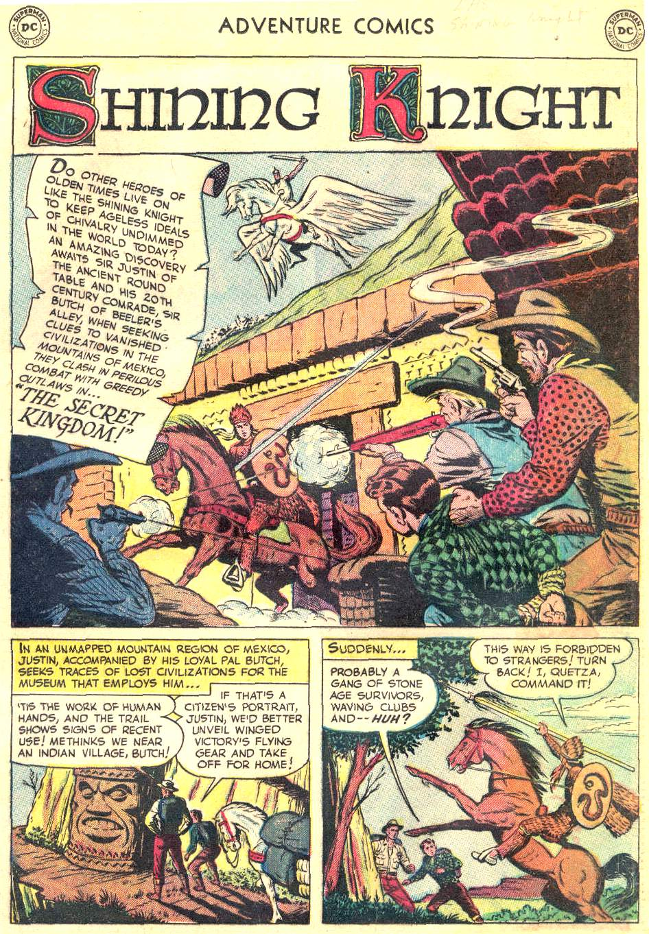 Read online Adventure Comics (1938) comic -  Issue #166 - 14