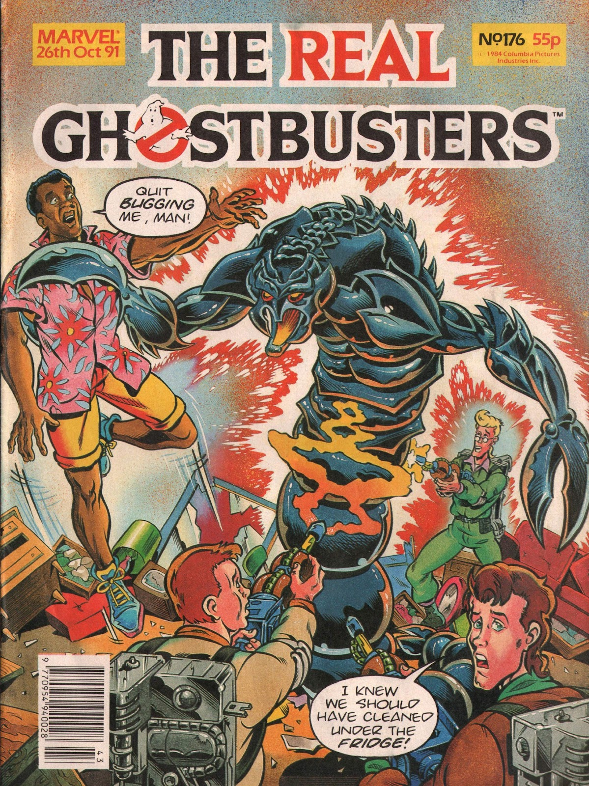 The Real Ghostbusters 176 Page 1