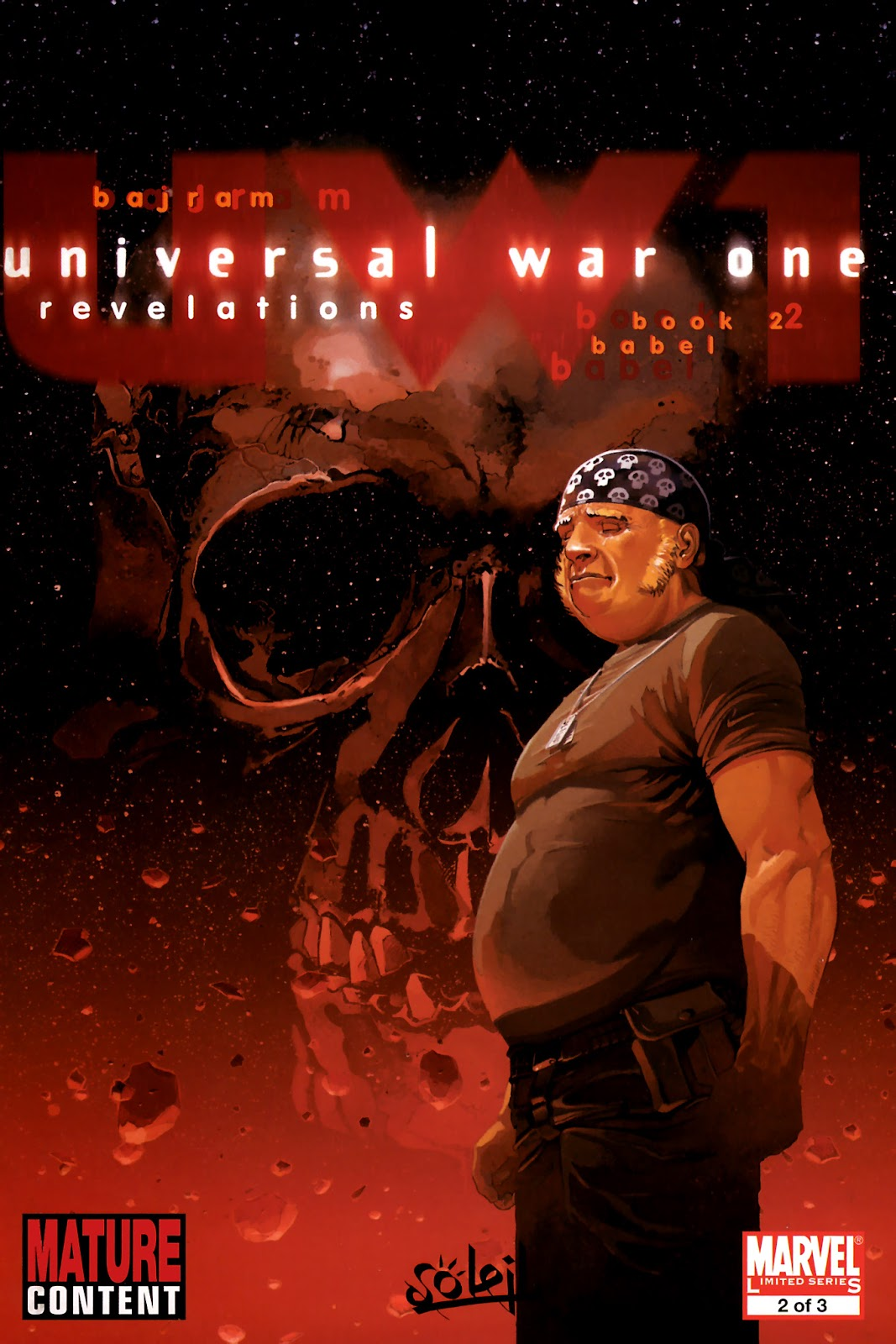 Read online Universal War One: Revelations comic -  Issue #2 - 1