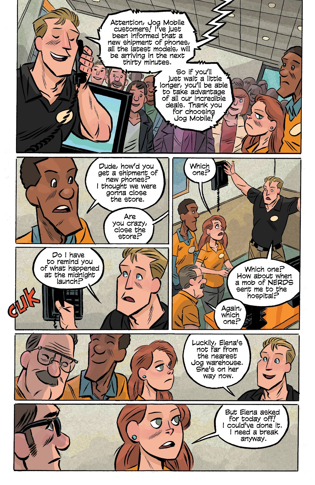 Read online Cellies comic -  Issue #6 - 19