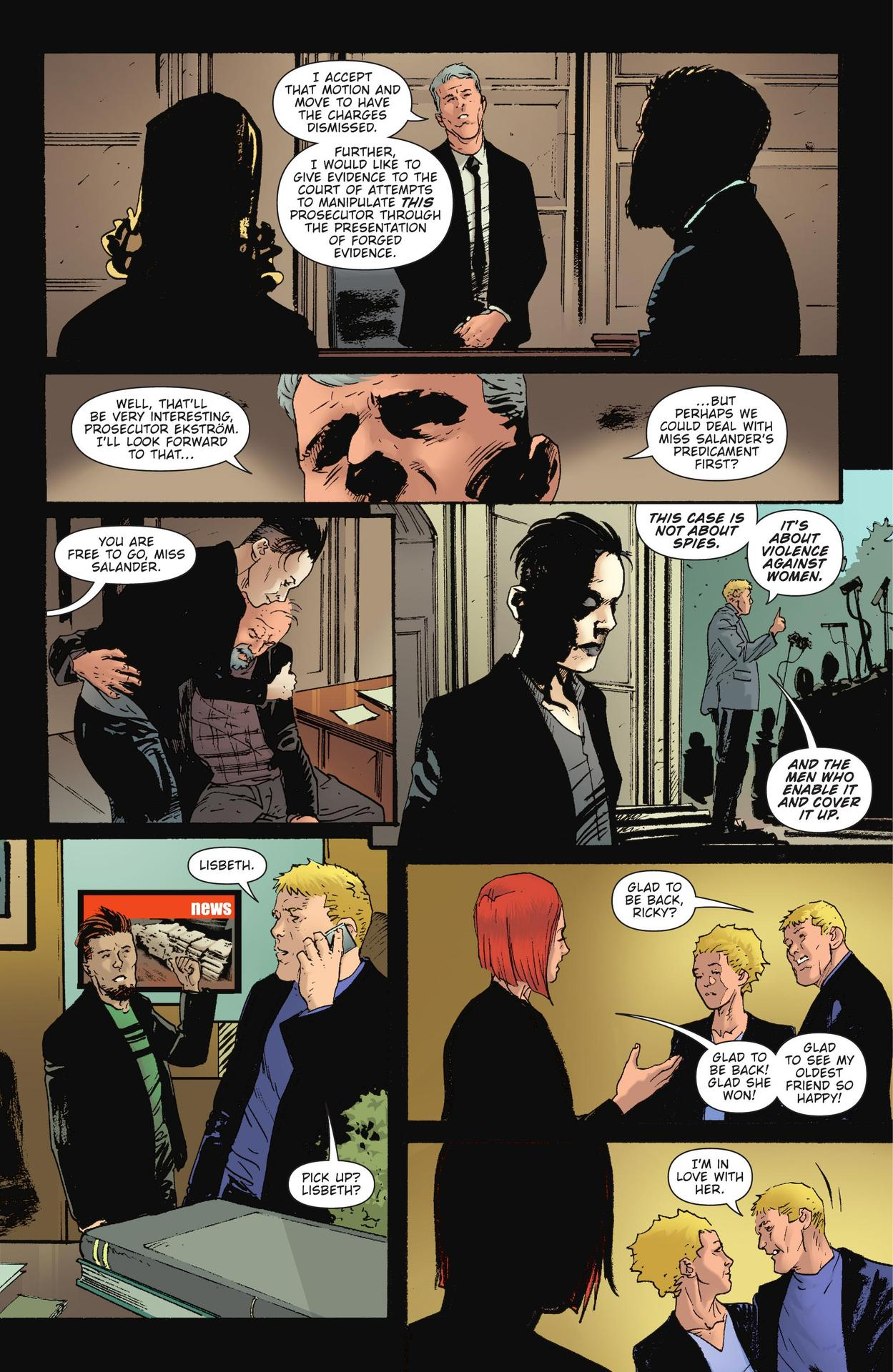 Read online The Girl Who Kicked The Hornet's Nest comic -  Issue # TPB - 249