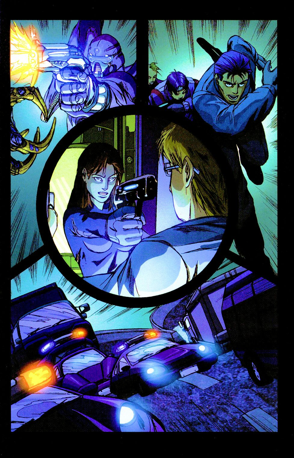 Darkminds (1998) Issue #8 #9 - English 3