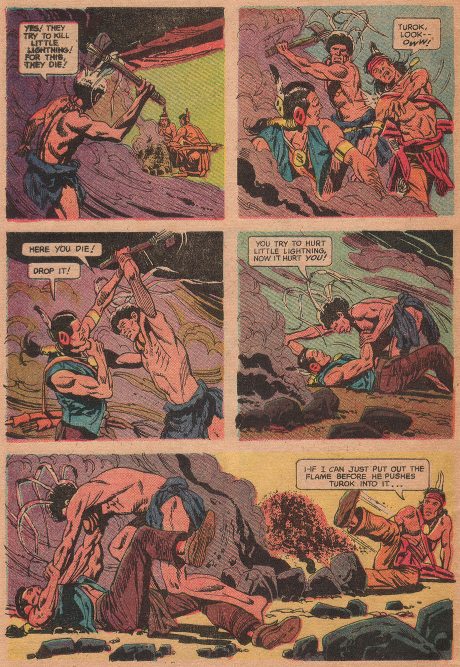 Read online Turok, Son of Stone comic -  Issue #73 - 32