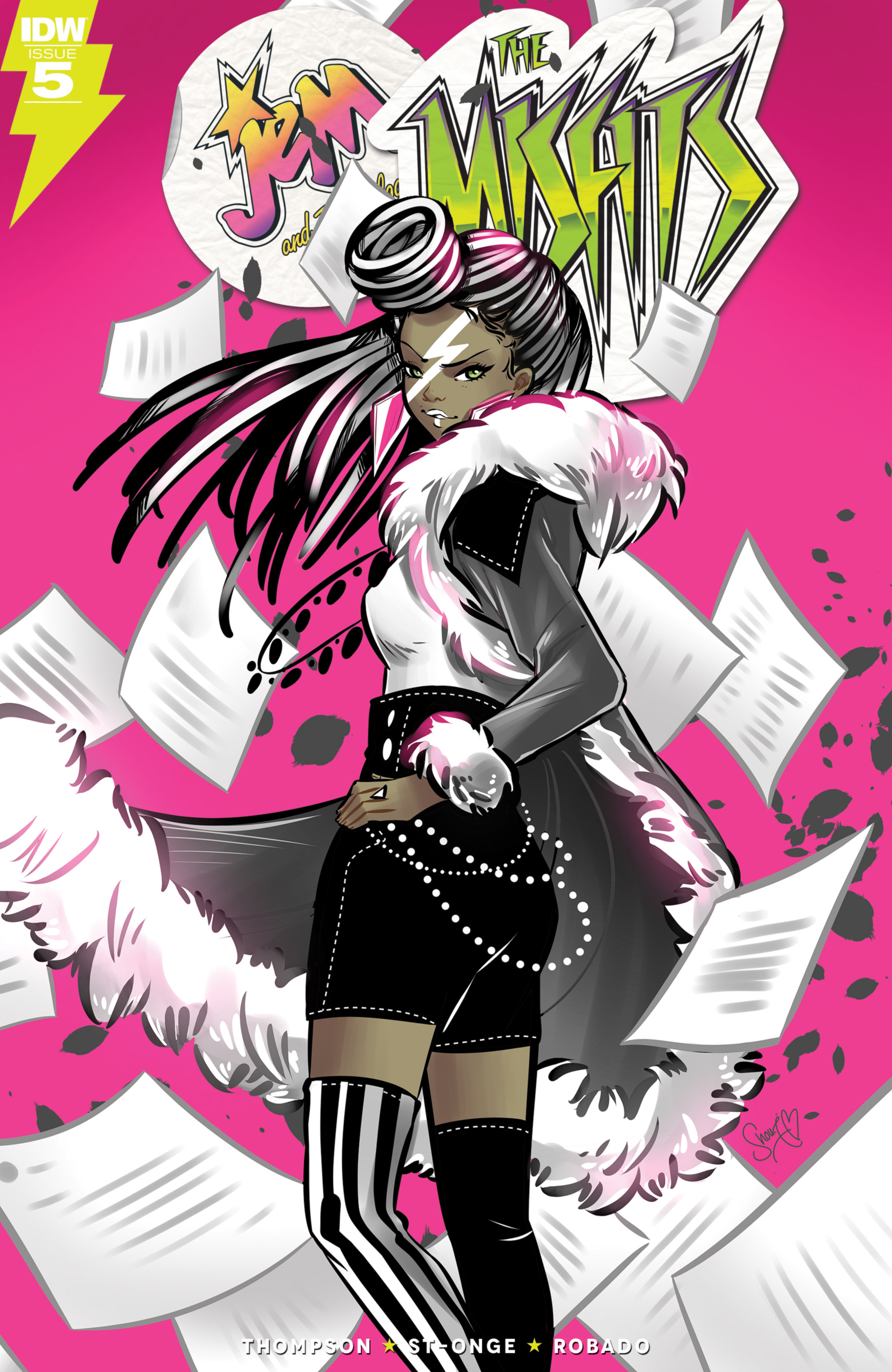 Read online Jem: The Misfits comic -  Issue #5 - 1