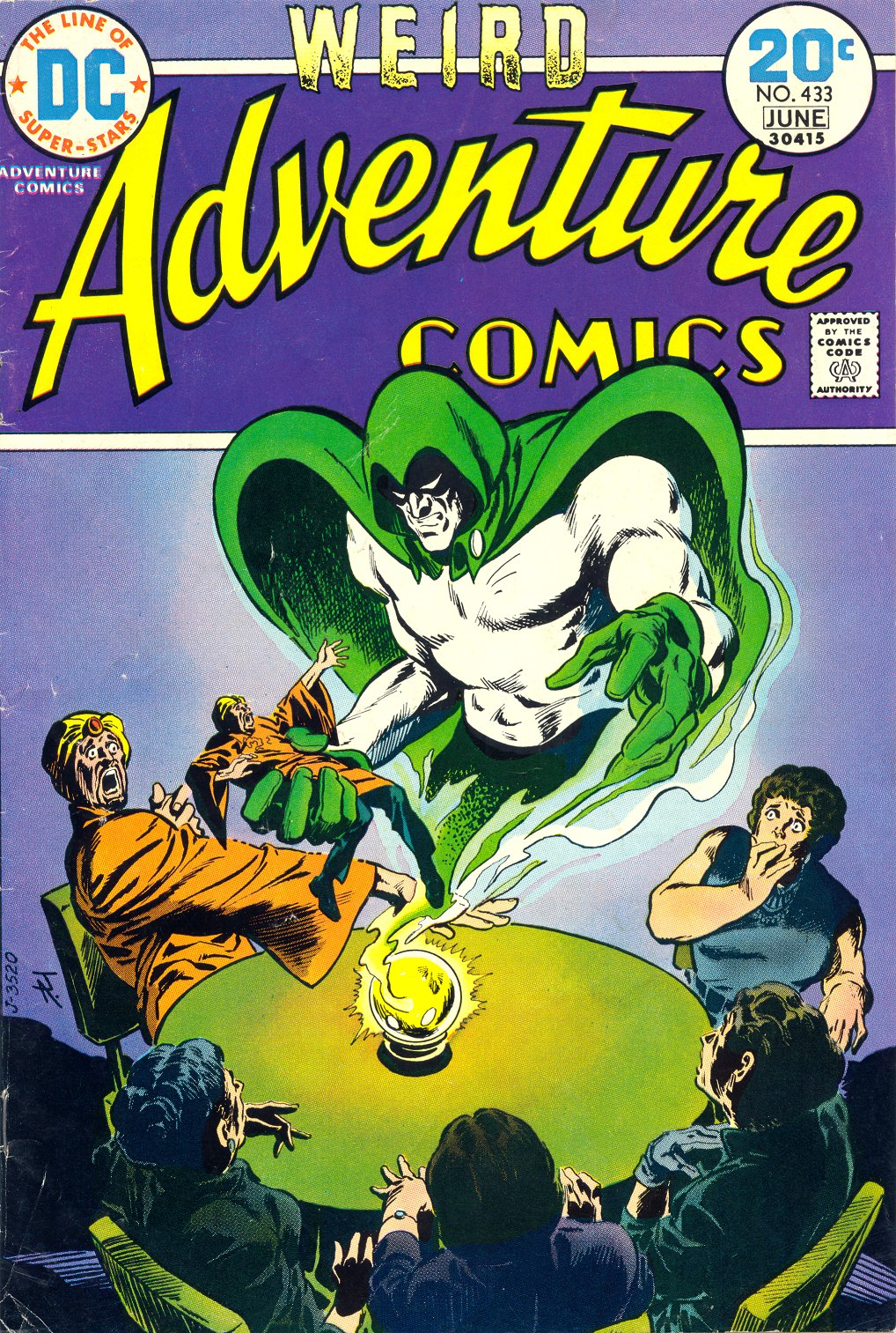 Read online Adventure Comics (1938) comic -  Issue #433 - 1