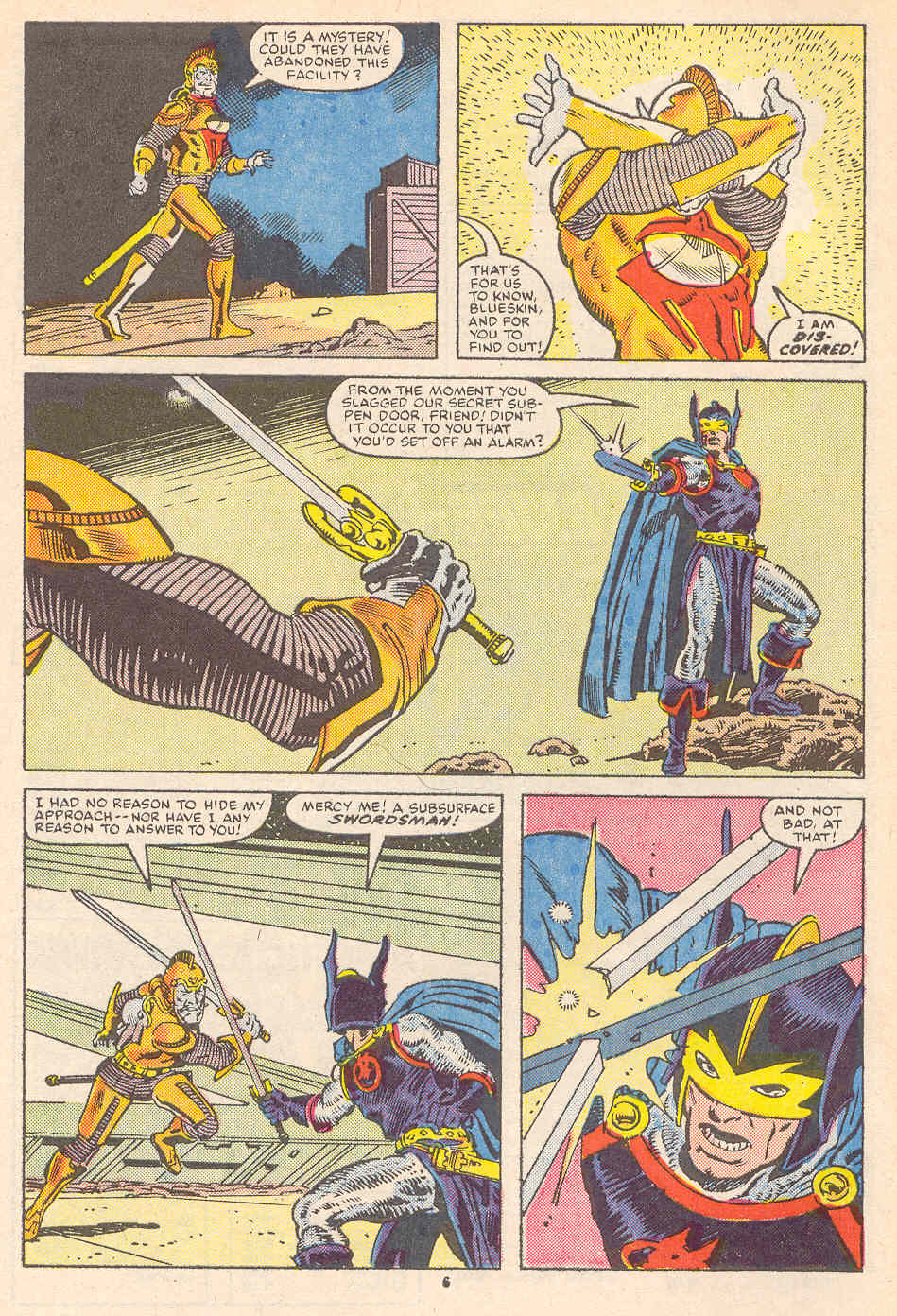 Read online Alpha Flight (1983) comic -  Issue #36 - 7
