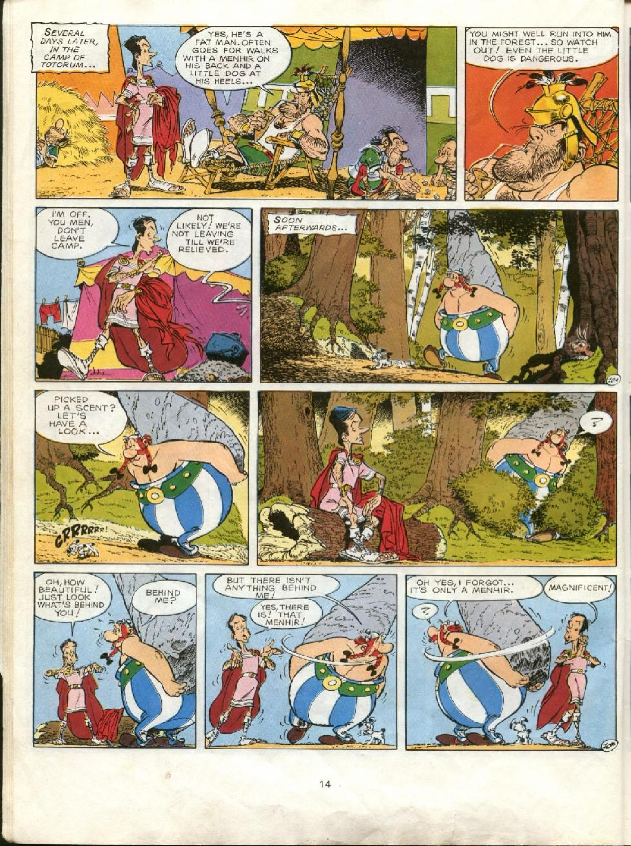 Read online Asterix comic -  Issue #23 - 11