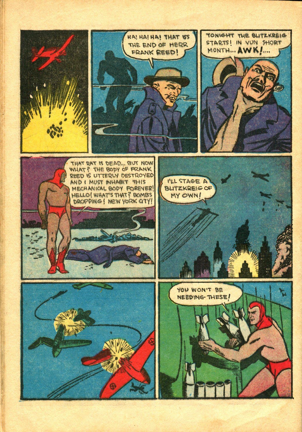 Read online Shadow Comics comic -  Issue #10 - 52