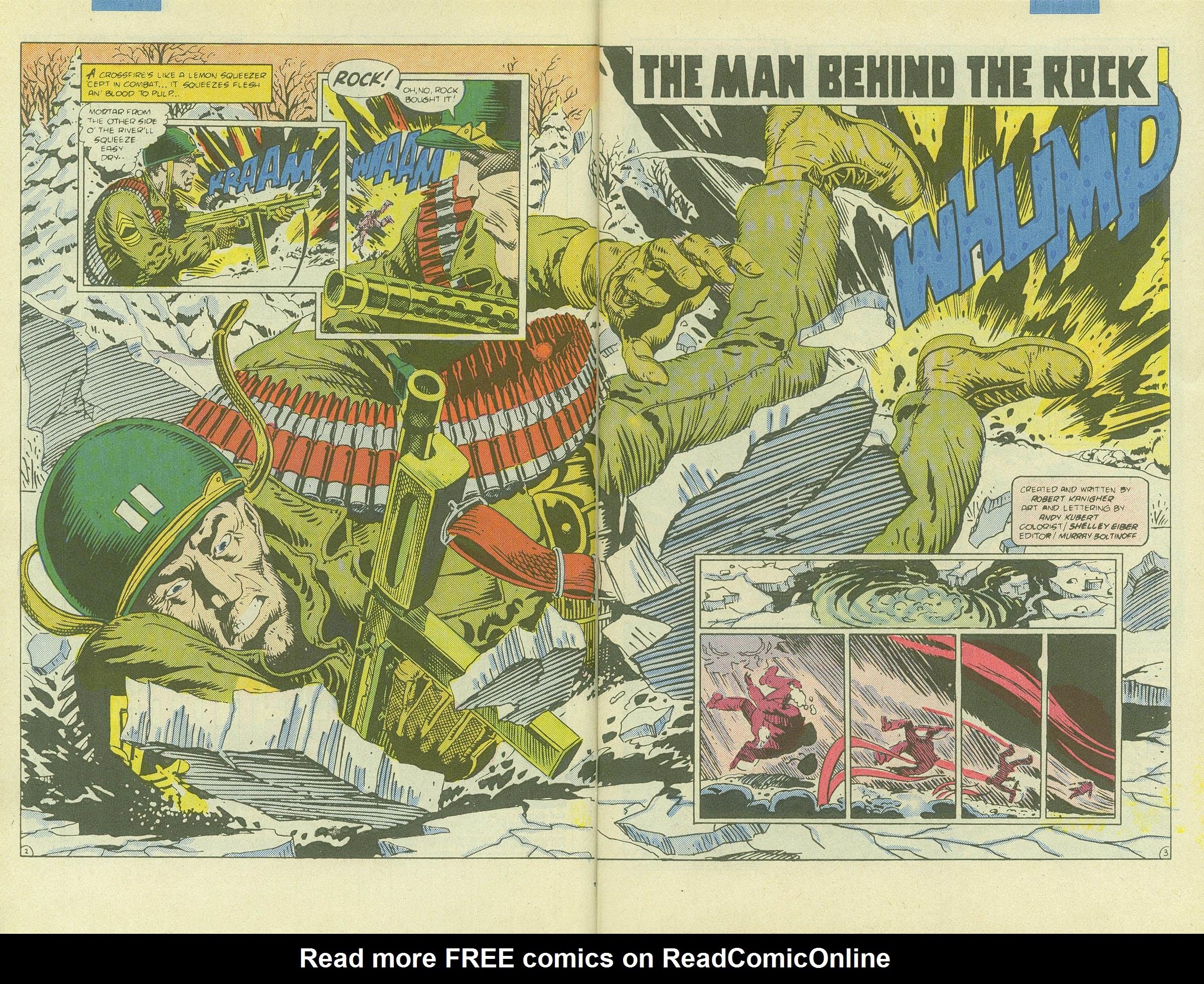 Read online Sgt. Rock comic -  Issue #411 - 4
