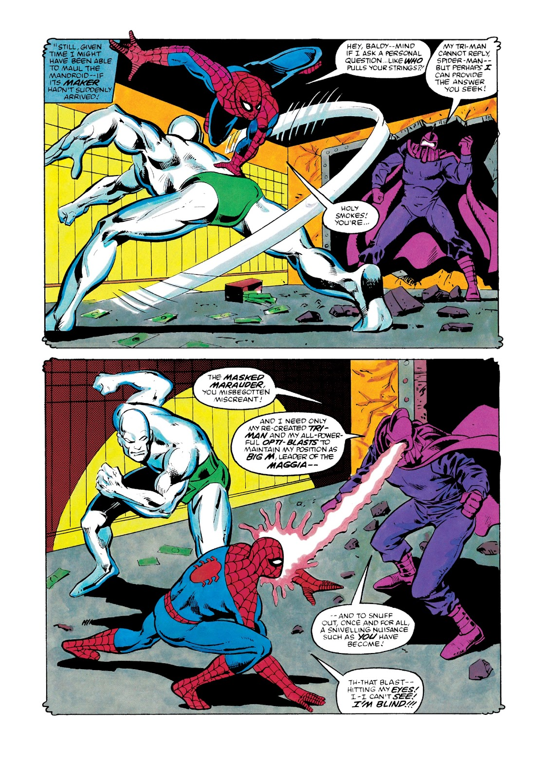 Read online Marvel Masterworks: The Spectacular Spider-Man comic -  Issue # TPB 2 (Part 3) - 109