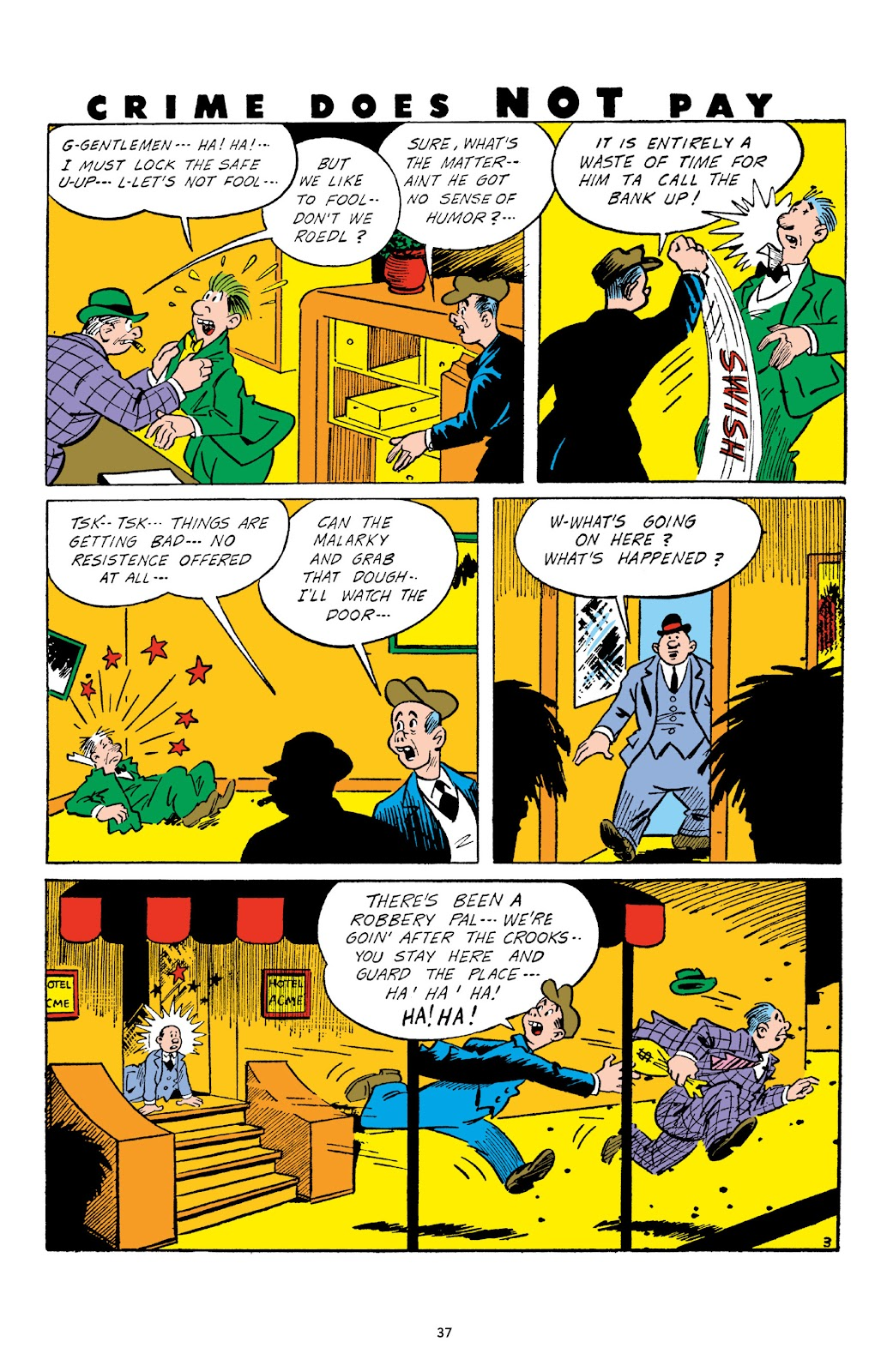 Read online Crime Does Not Pay Archives comic -  Issue # TPB 3 (Part 1) - 37